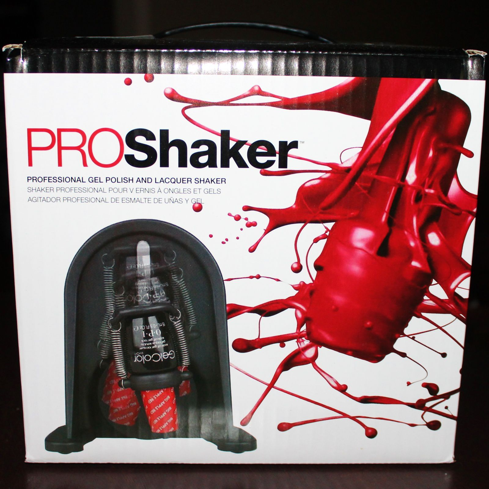 Izen PROShaker. Professional gel-polish and nail polish shaker. Officially endorsed by Gel-Color by OPI