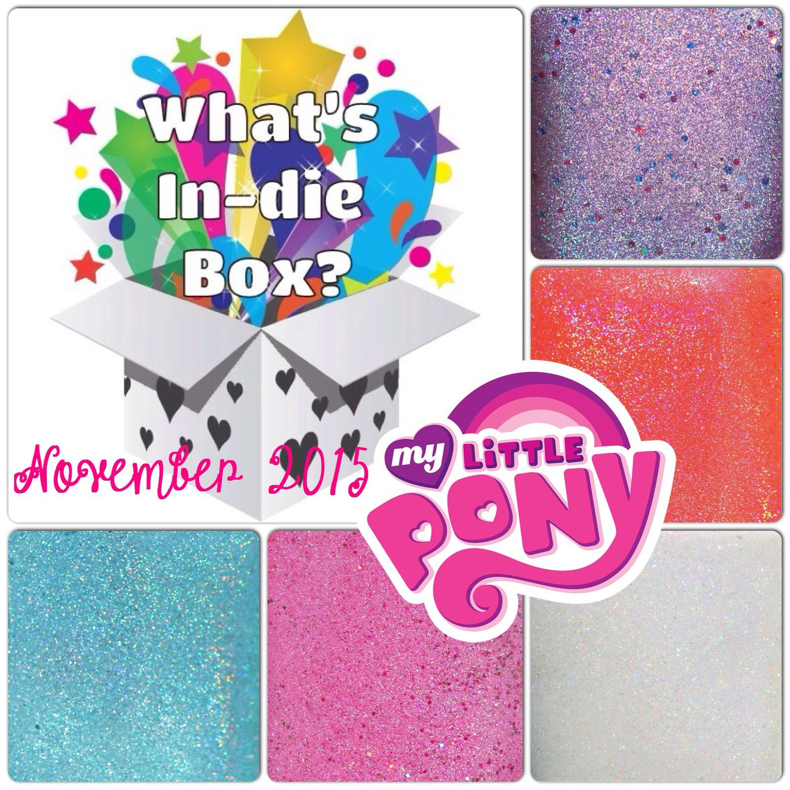 What's Indie Box - November 2015 - My Little Pony