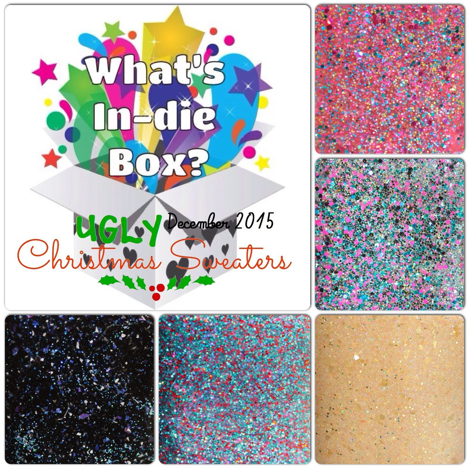 What's Indie Box - December 2015 - Ugly Christmas Sweaters