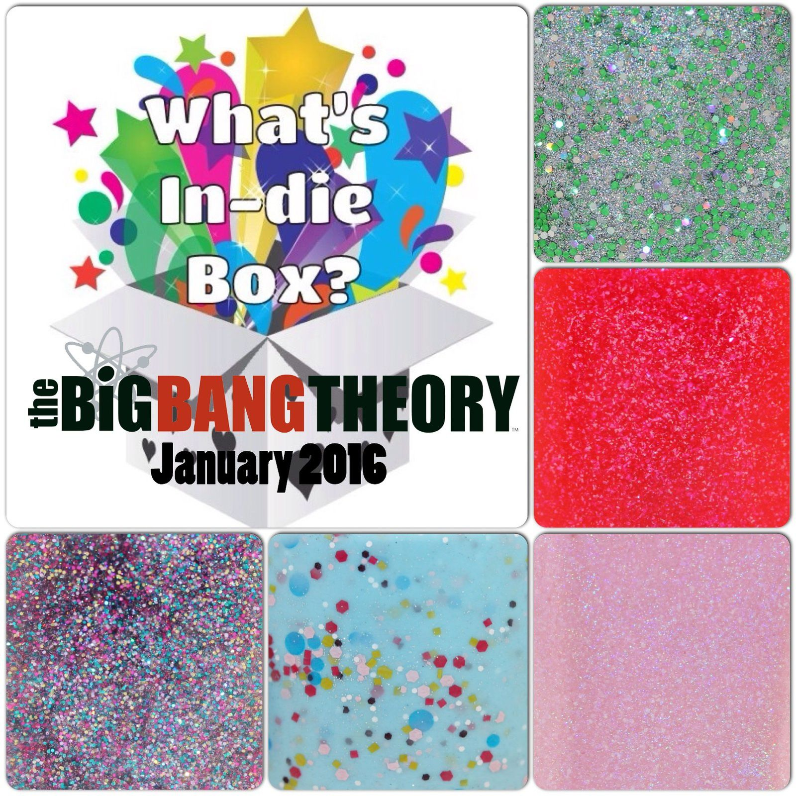 What's Indie Box - January 2016 - The Big Bang Theory