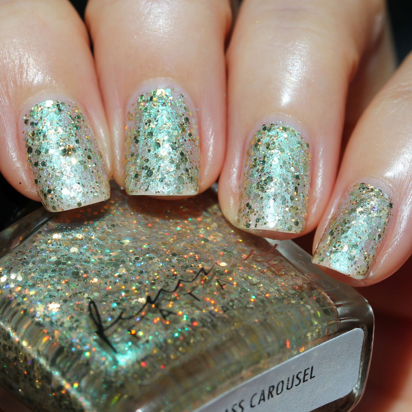 Femme Fatale Cosmetics - Glass Carousel (3 coats, no top coat)