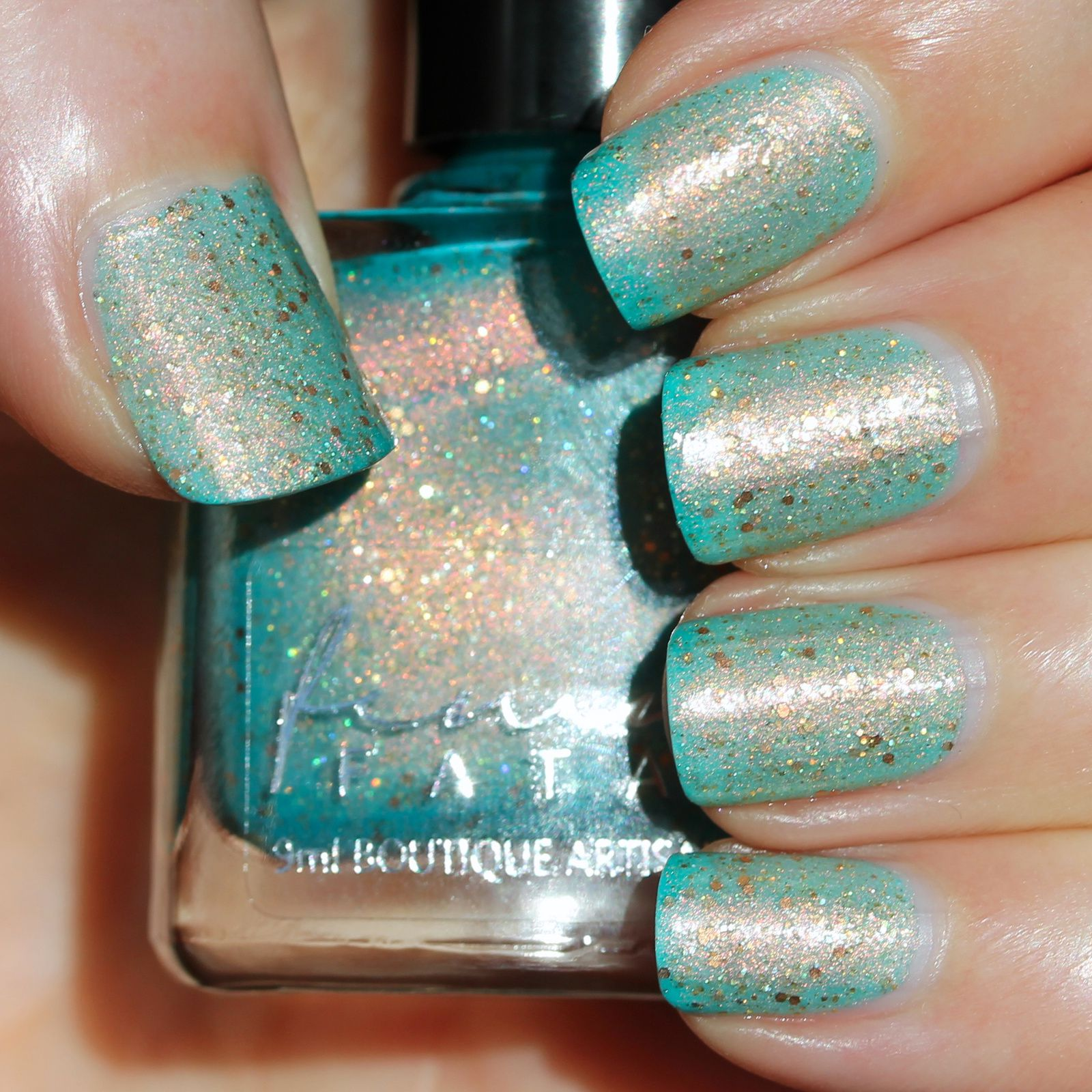 Femme Fatale Cosmetics - A Fortune Teller's Charm (2 coats, no top coat)