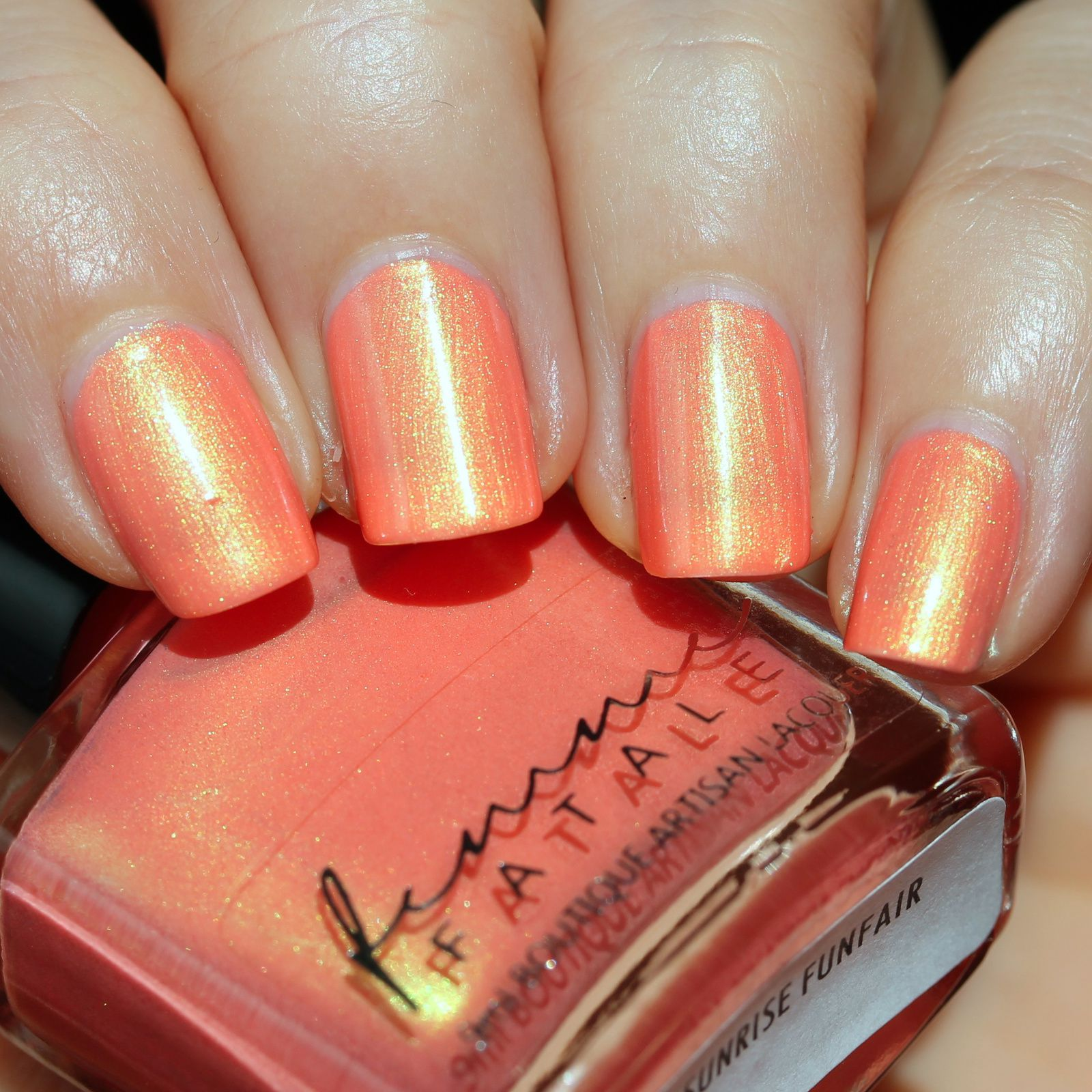 Femme Fatale Cosmetics - Sunrise Funfair (2 coats, no top coat)