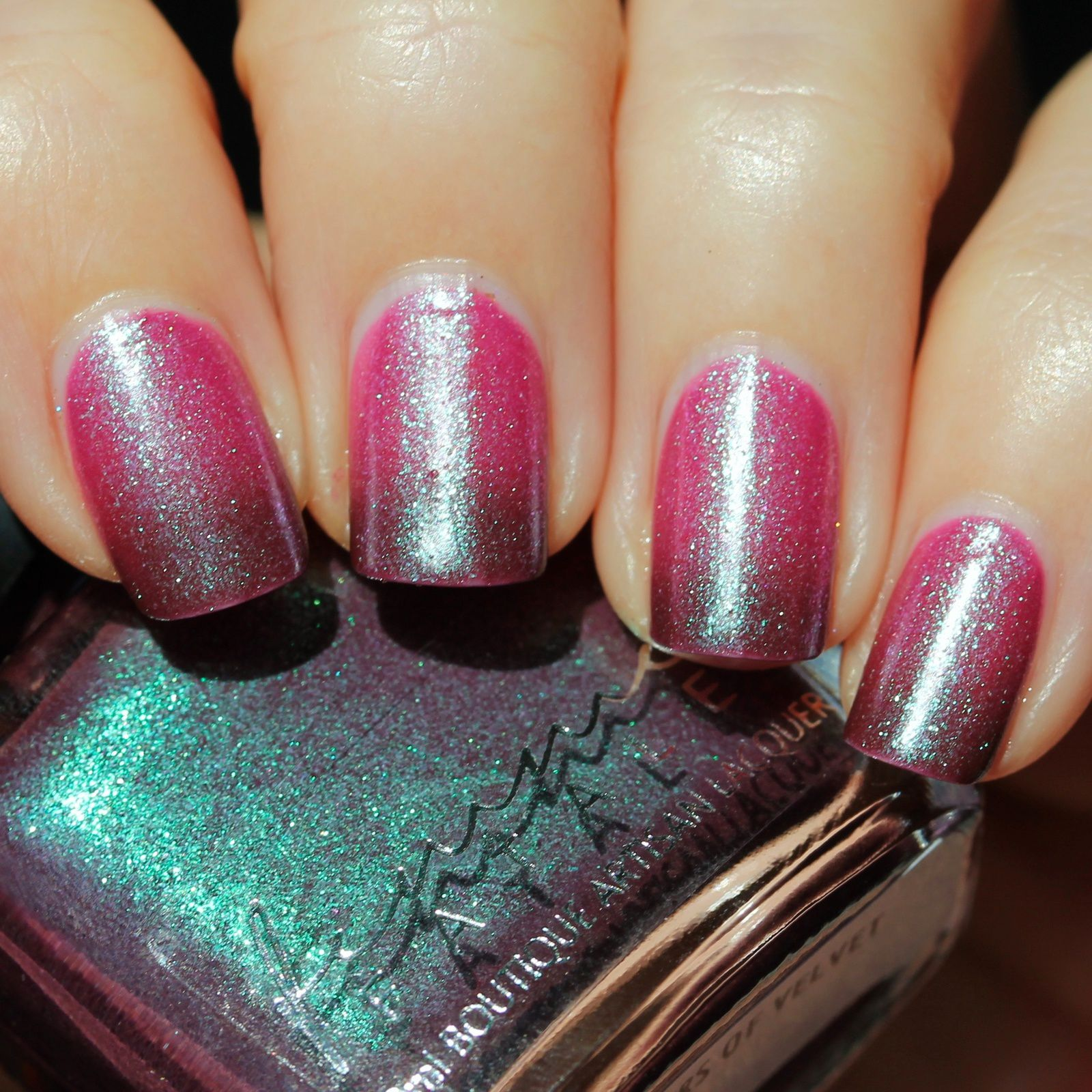 Femme Fatale Cosmetics - Whispers of Velvet (2 coats, no top coat)