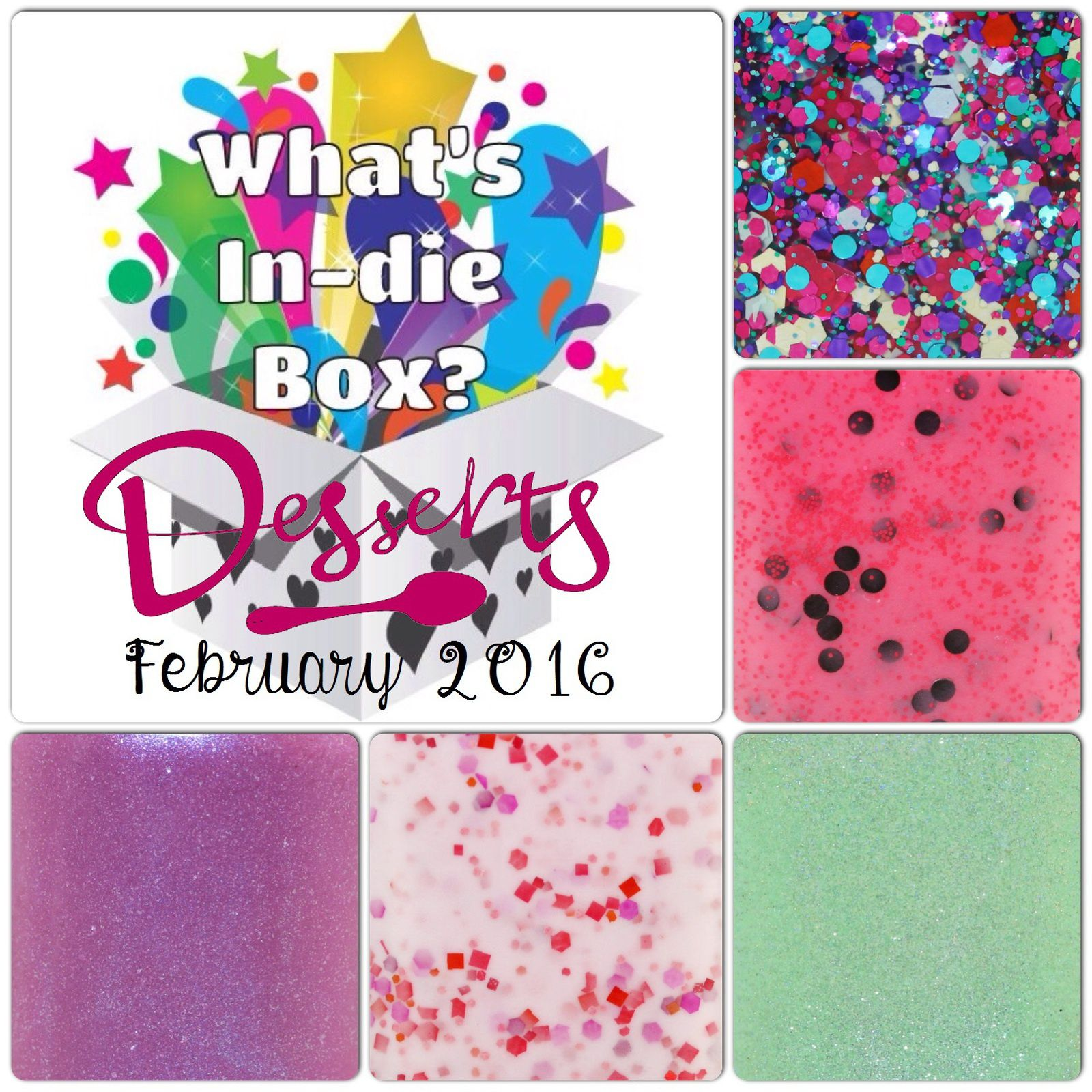 What's Indie Box - February 2016 - Desserts