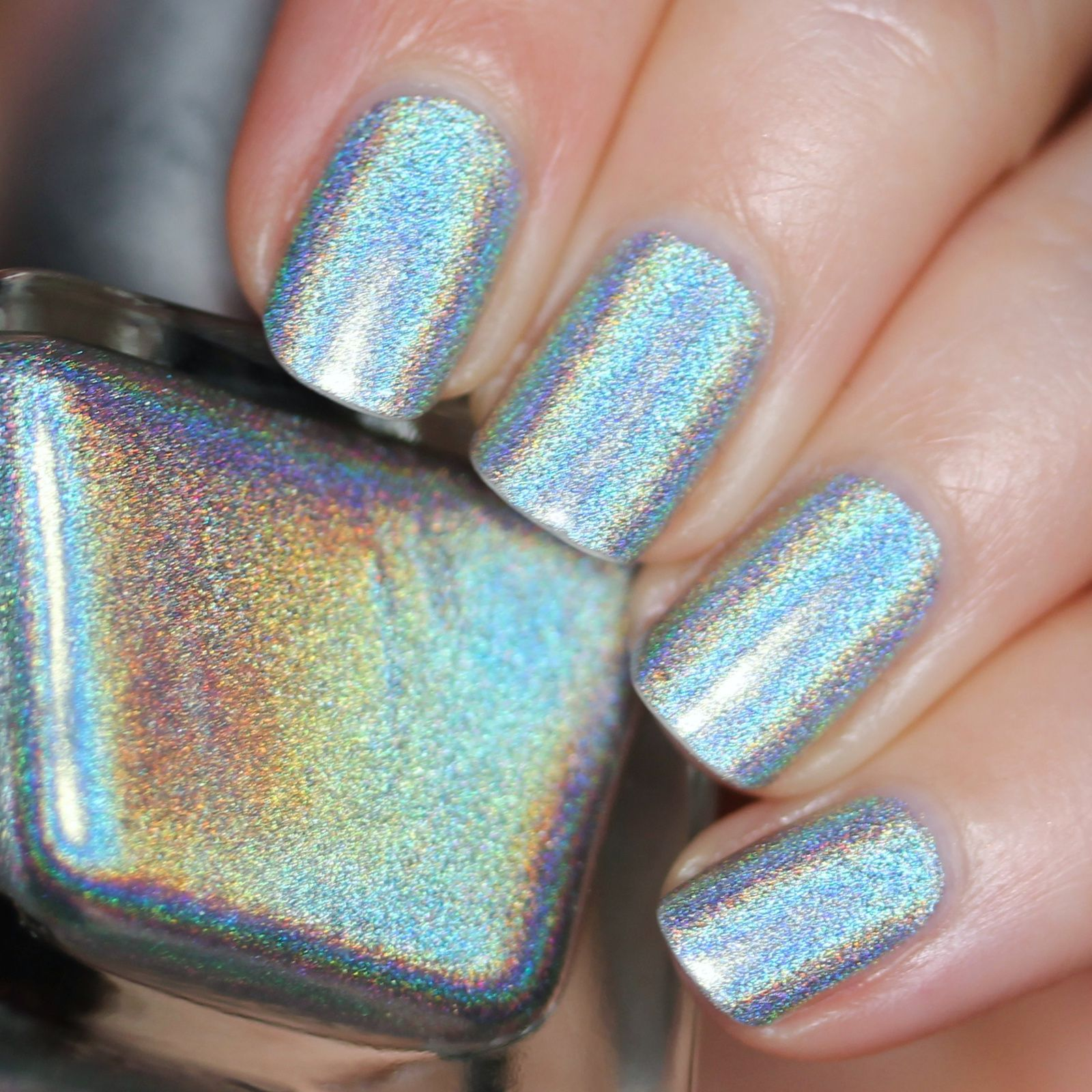 Duri Rejuvacote / Urban Outfitters Silver Holo / HK Girl Top Coat
