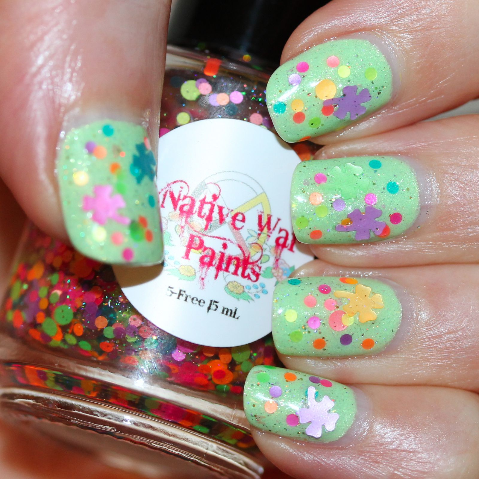 Duri Rejuvacote / Lilypad Lacquer Sub-lime! / Native War Paints Get Clover Yourself / HK Girl Top Coat