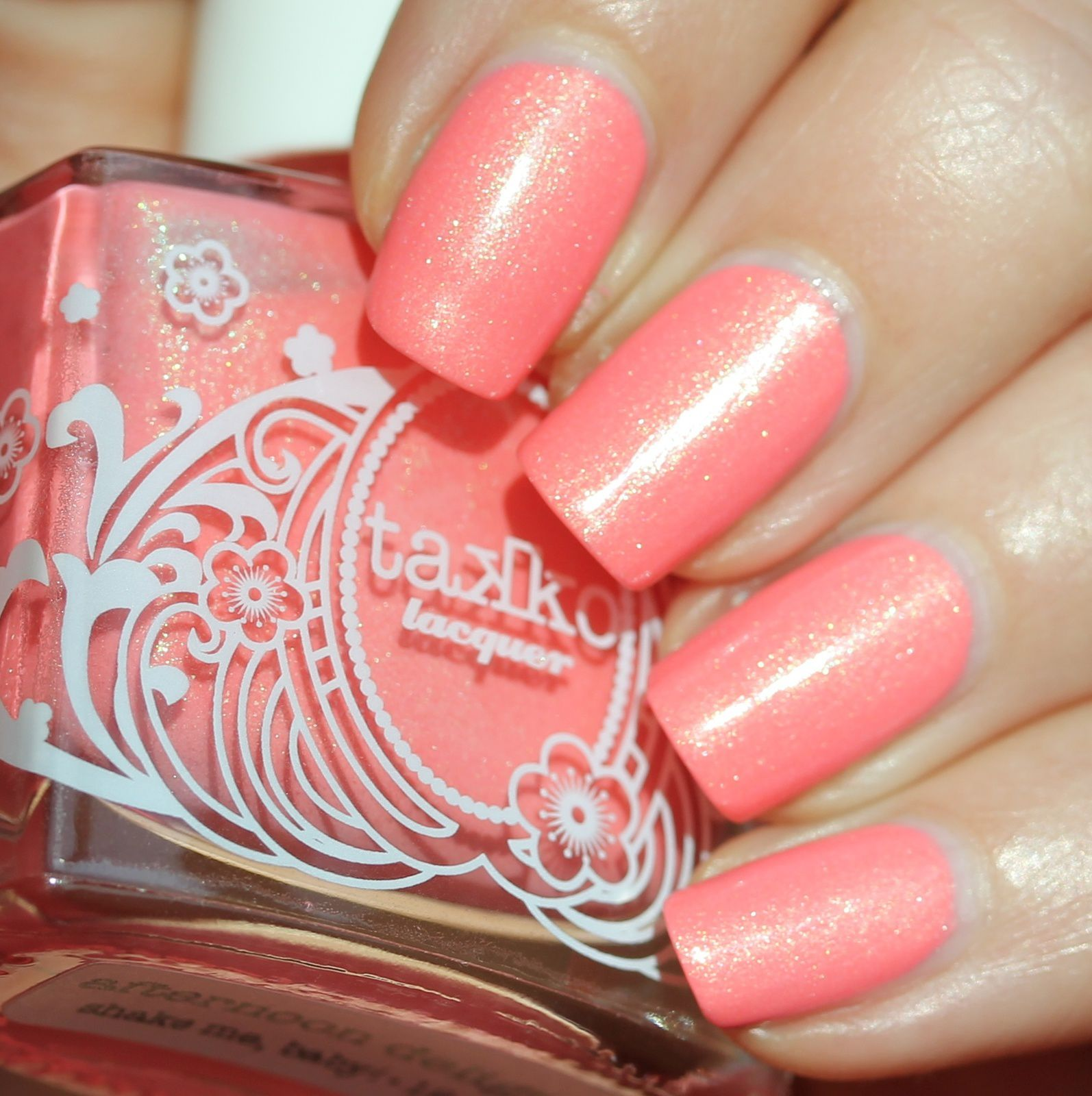 Duri Rejuvacote / Takko Lacquer Afternoon Delight / Sally Hansen Miracle Gel Top Coat