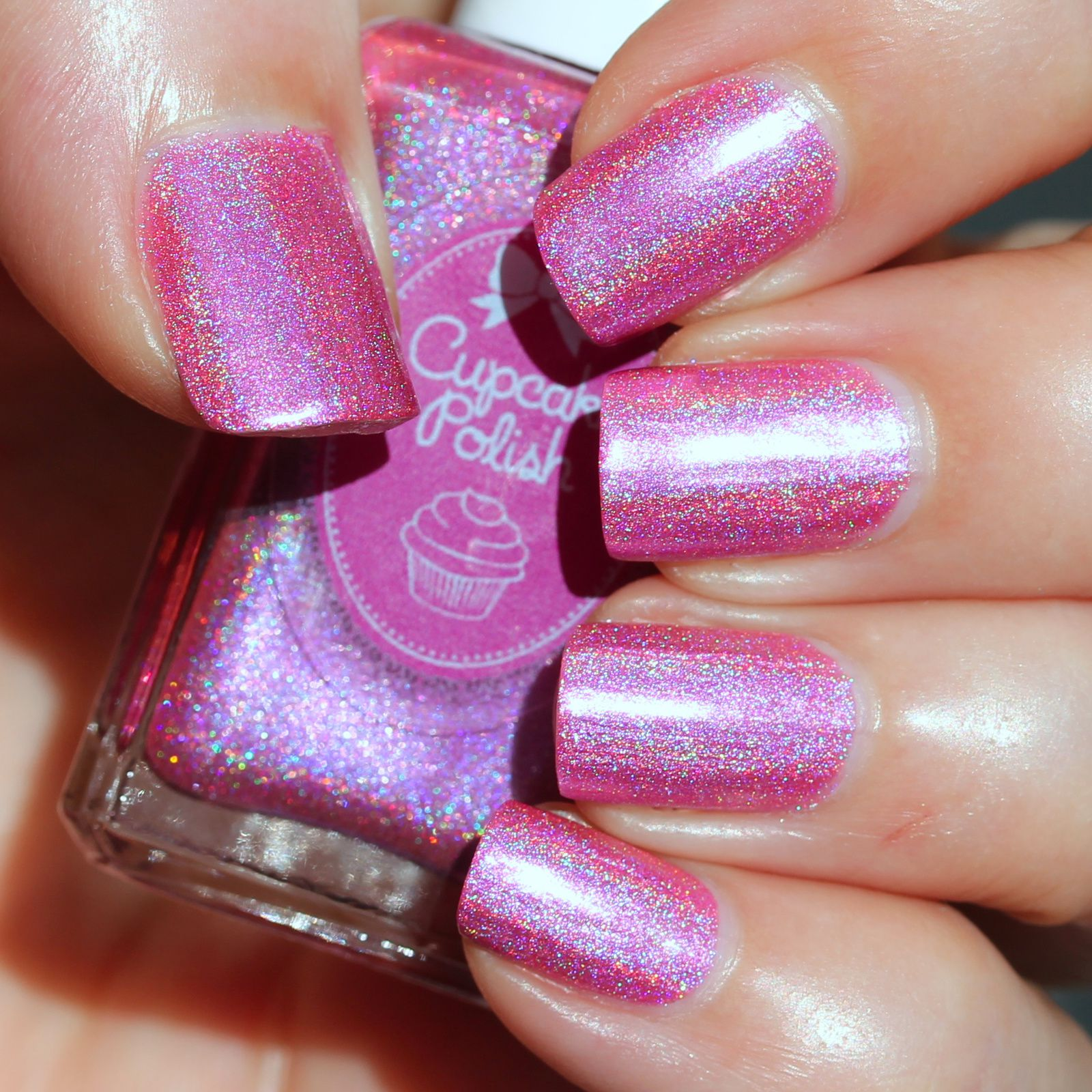 Cupcake Polish Barbie Girl (2 coats, no top coat)