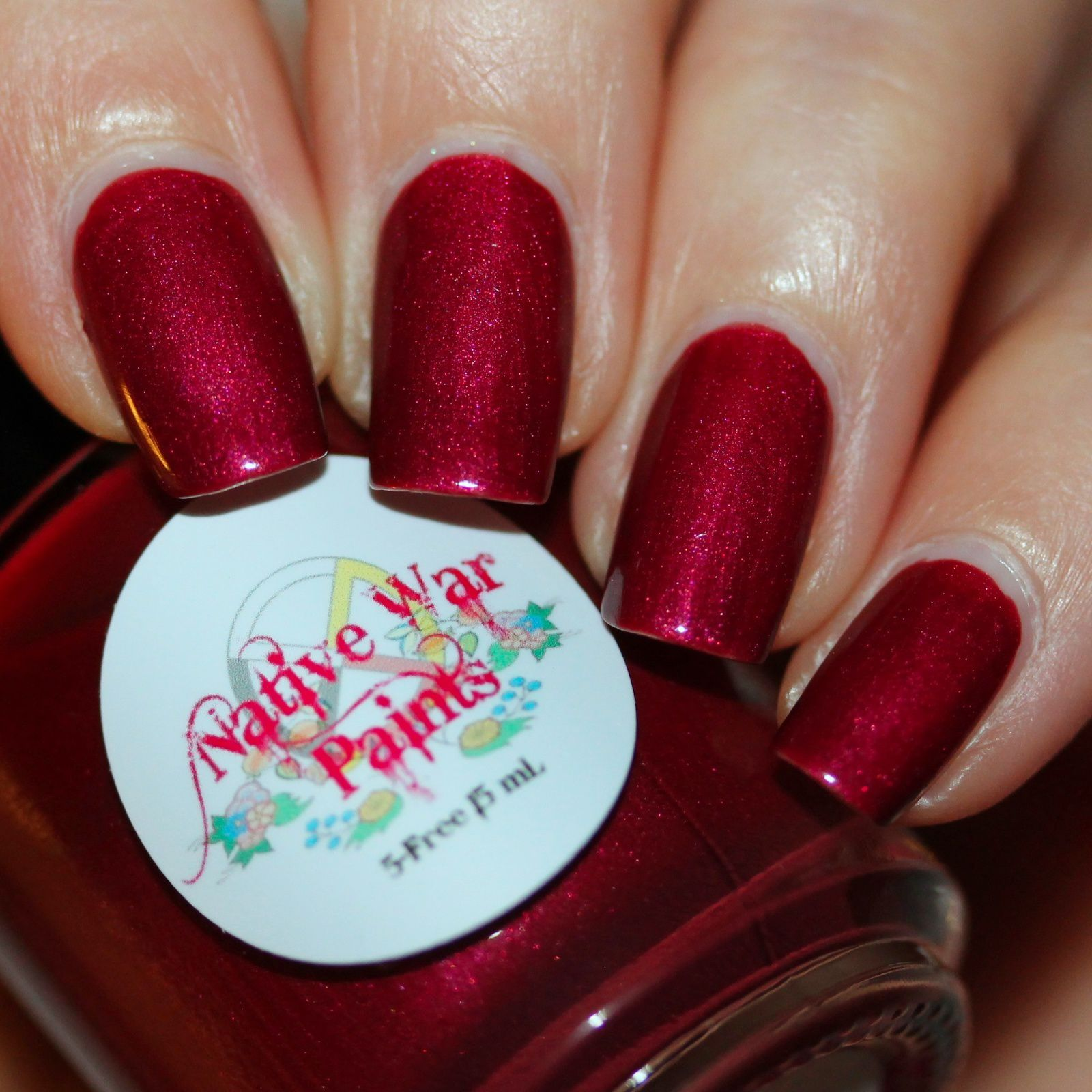 Essie Protein Base Coat / Native War Paints You Oughta Know / Sally Hansen Miracle Gel Top Coat