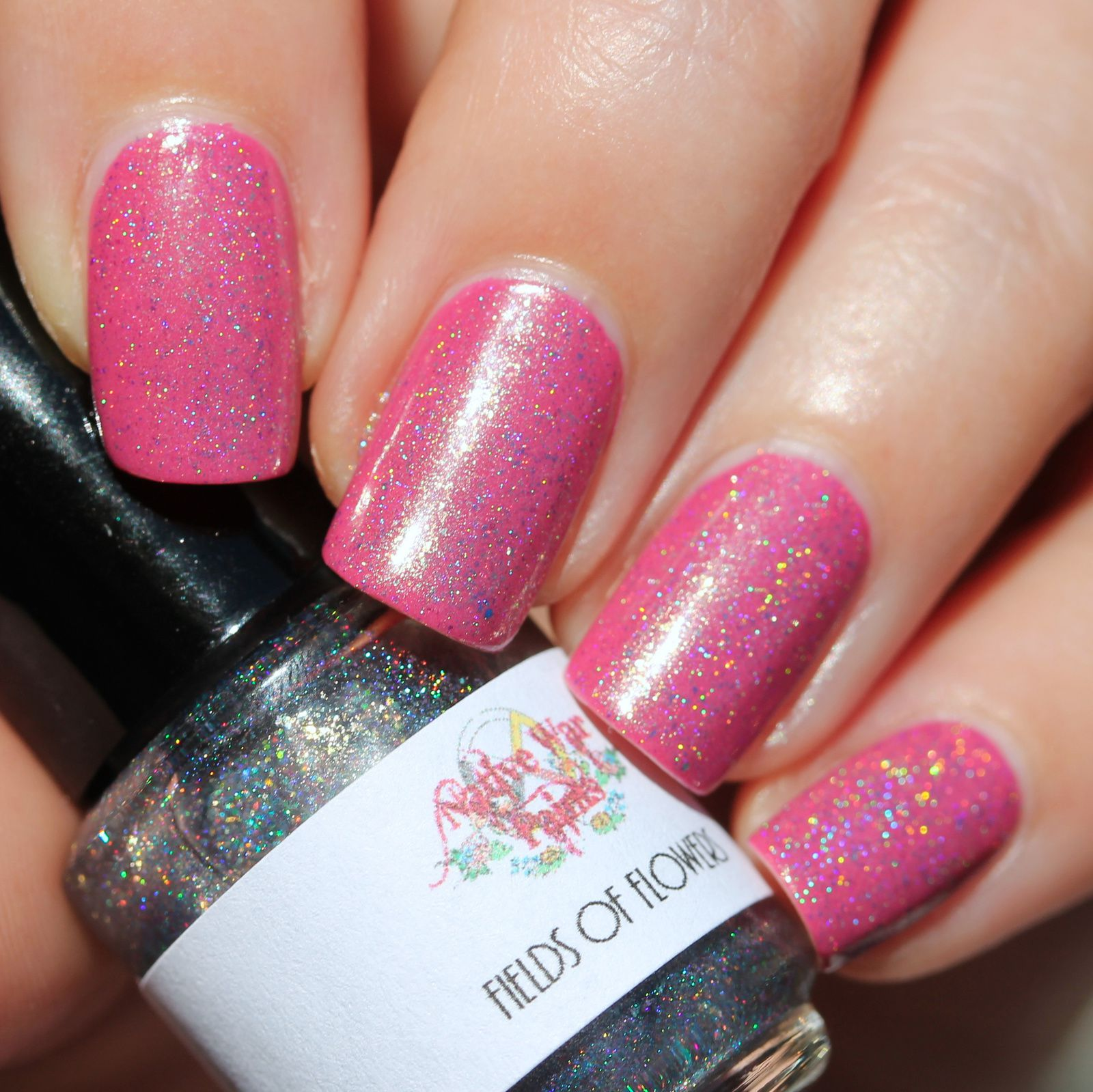 Native War Paints Fields of Flowers (1 coat over Robins Egg & Tulip Time, no top coat)