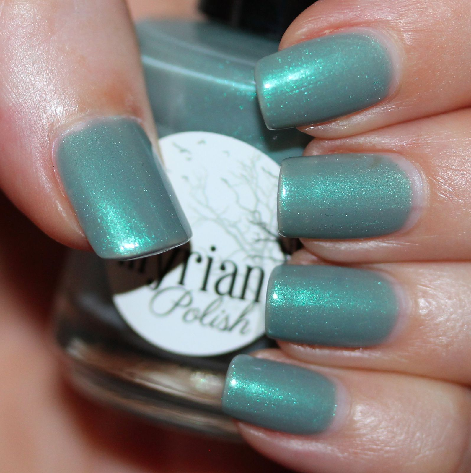 Duri Rejuvacote / Illyrian Polish Our Dreams Seem Not Far Away / Sally Hansen Miracle Gel Top Coat
