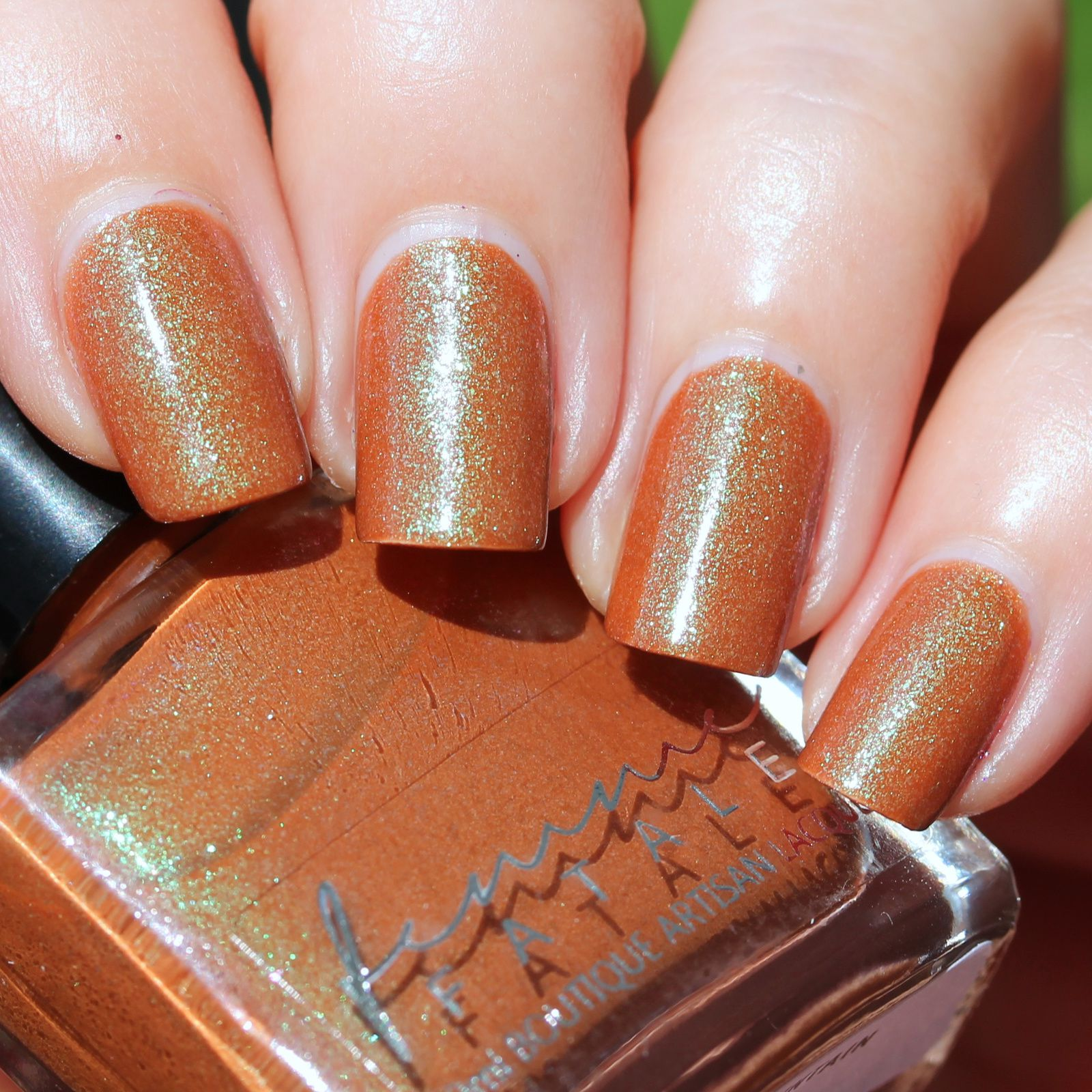 Femme Fatale Cosmetics - Lonely Mountain (2 coats, no top coat)