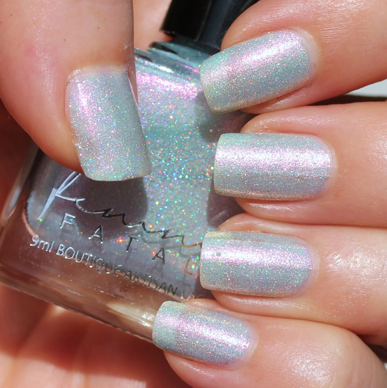 Femme Fatale Cosmetics - Hear of the Mountain (3 coats, no top coat)