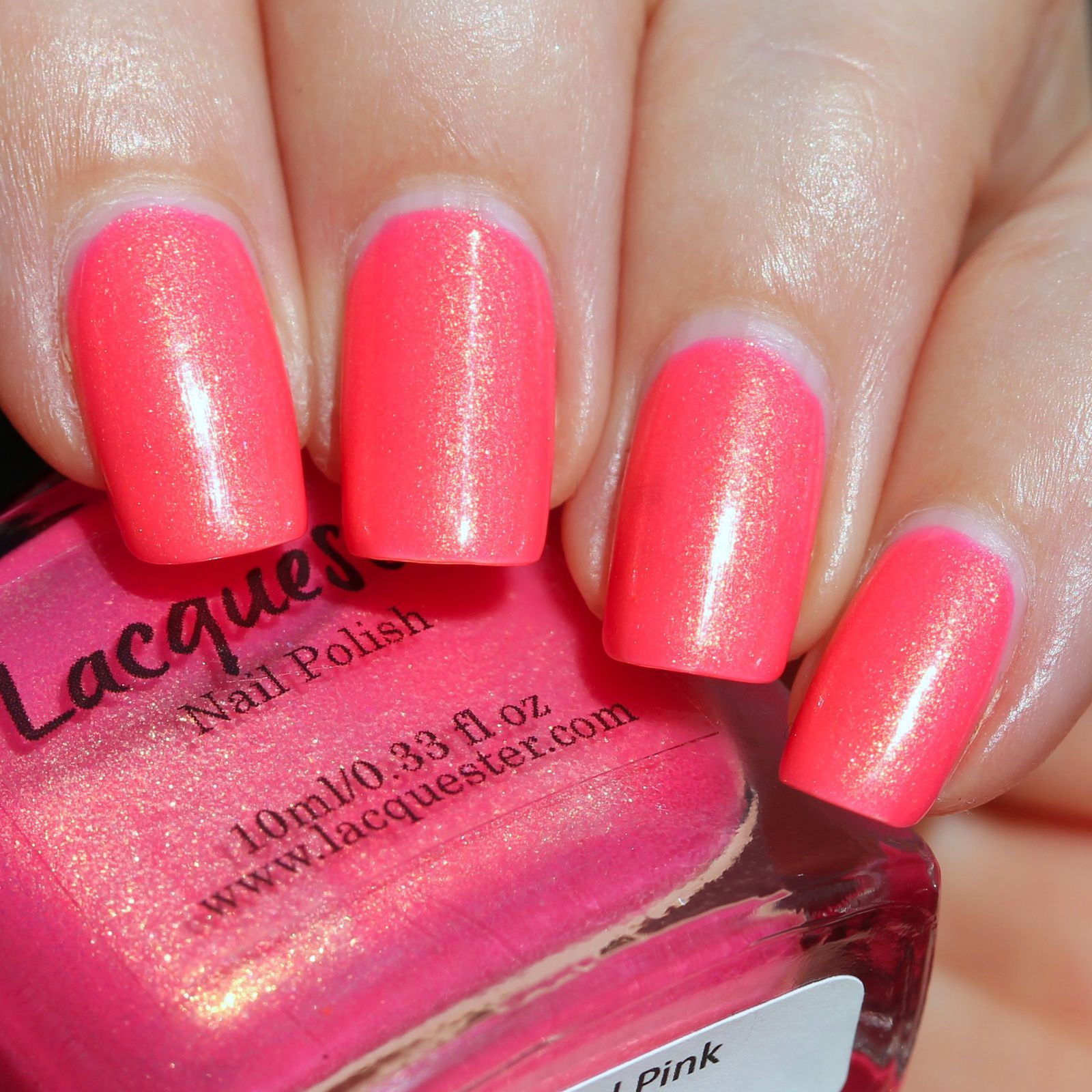 Duri Rejuvacote / Lacquester Katy Did Pink / Sally Hansen Miracle Gel Top Coat