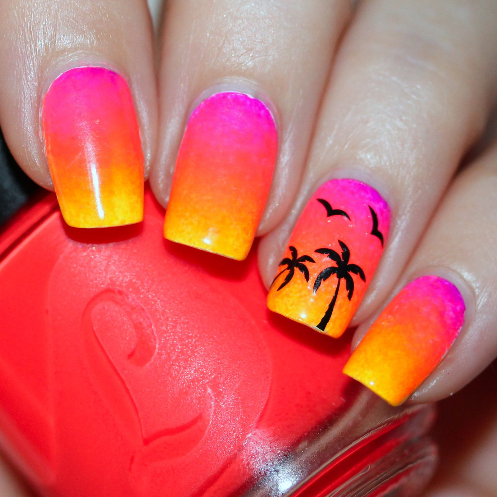 Duri Rejuvacote / Finger Paints Base Coat for Neons / Lou It Yourself Cat Got Your Tongue?, Selling Like Hotcakes, Beg The Question, The Rest is History & Ley Bygones Be Bygones / Kiss Nails Polish Pop Abbey Road 101 / HK Girl Top Coat