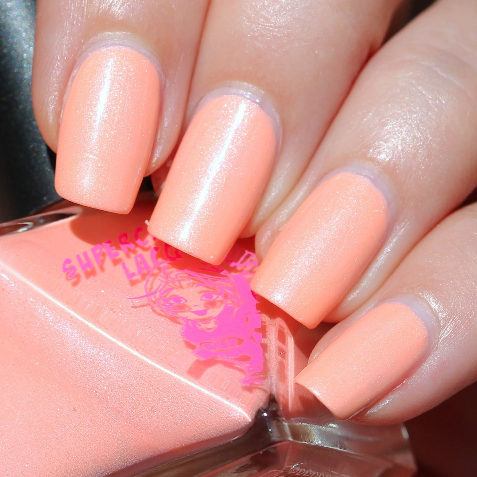 Essie Protein Base Coat / Superchic Lacquer Cause & Effect / Sally Hansen Miracle Gel Top Coat