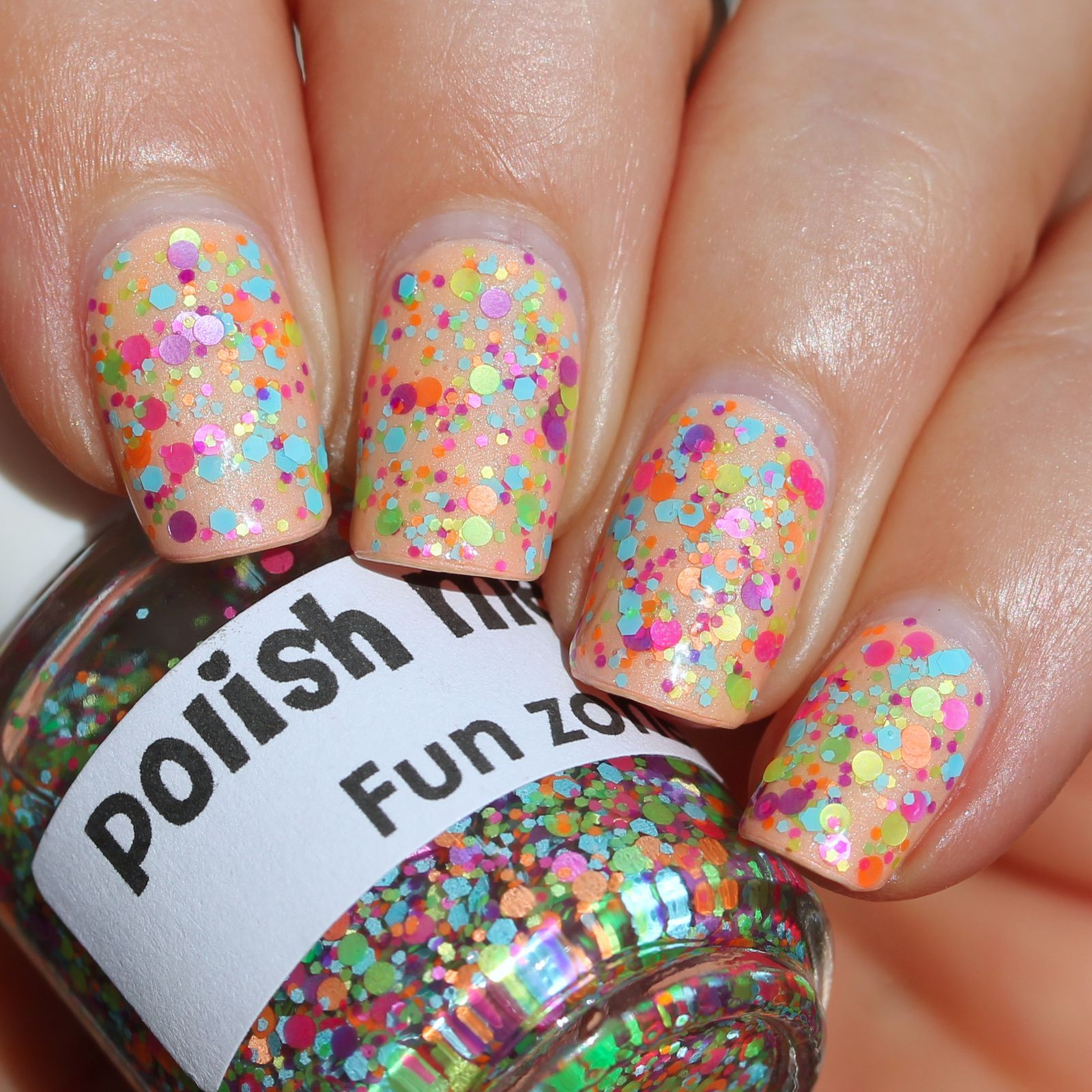 Essie Protein Base Coat / Superchic Lacquer Cause & Effect / Polish Me Silly Fun Zone / Sally Hansen Miracle Gel Top Coat