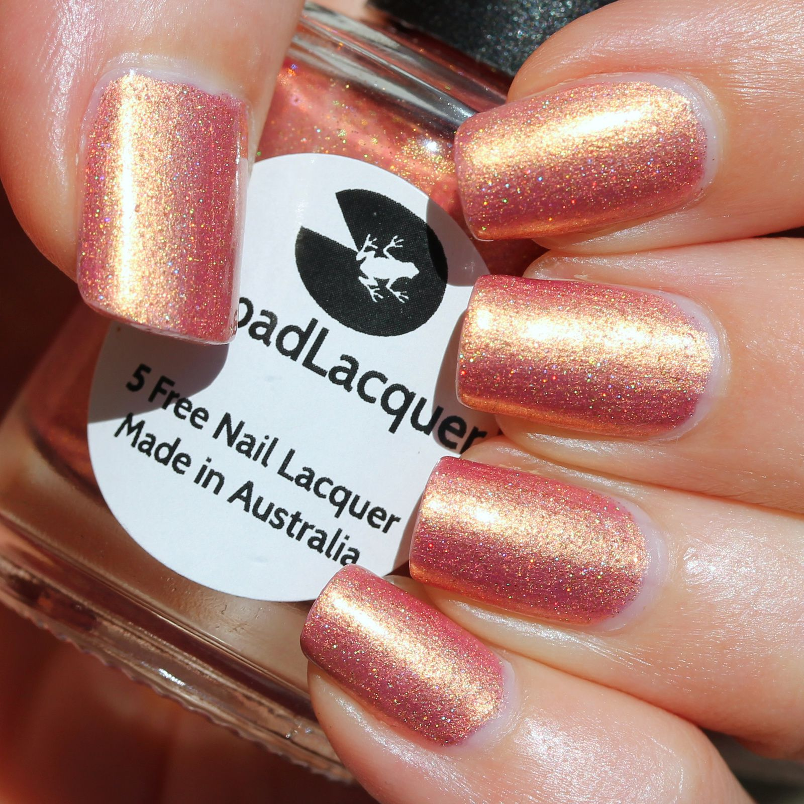 Duri Rejuvacote / Lilypad Lacquer Rose Gold / HK Girl Top Coat