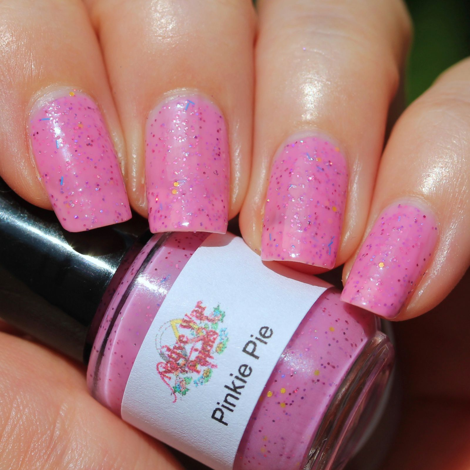 Native War Paints Pinkie Pie (3 coats, no top coat)
