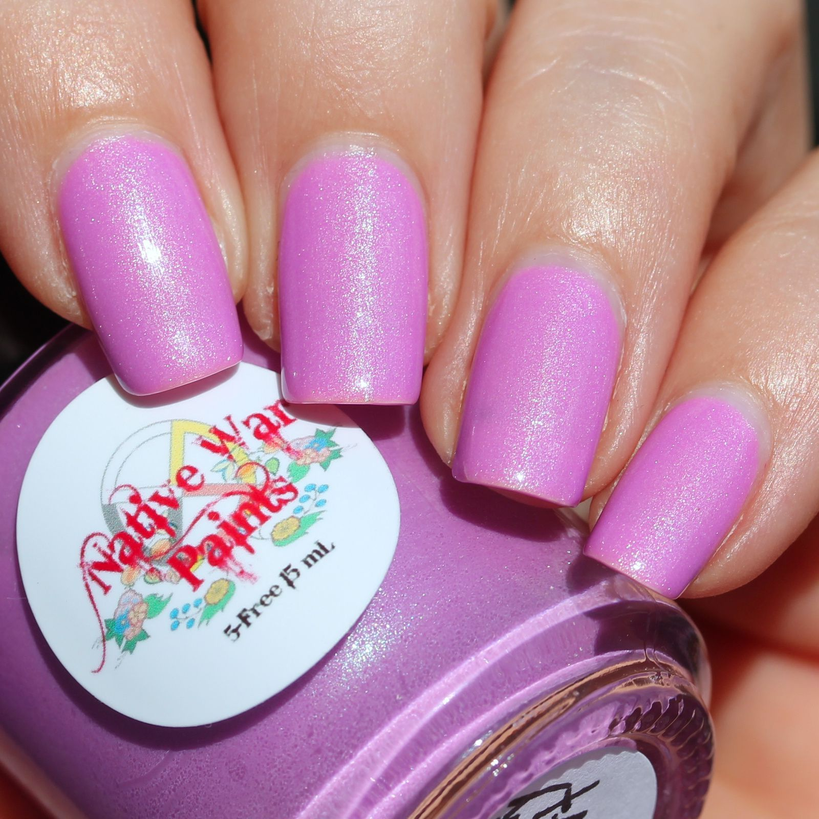 Sally Hansen Complete Care 4-in-1 Extra Moisturizing Nail Treatment / Native War Paints Blueberry Yogurt / Sally Hansen Miracle Gel Top Coat