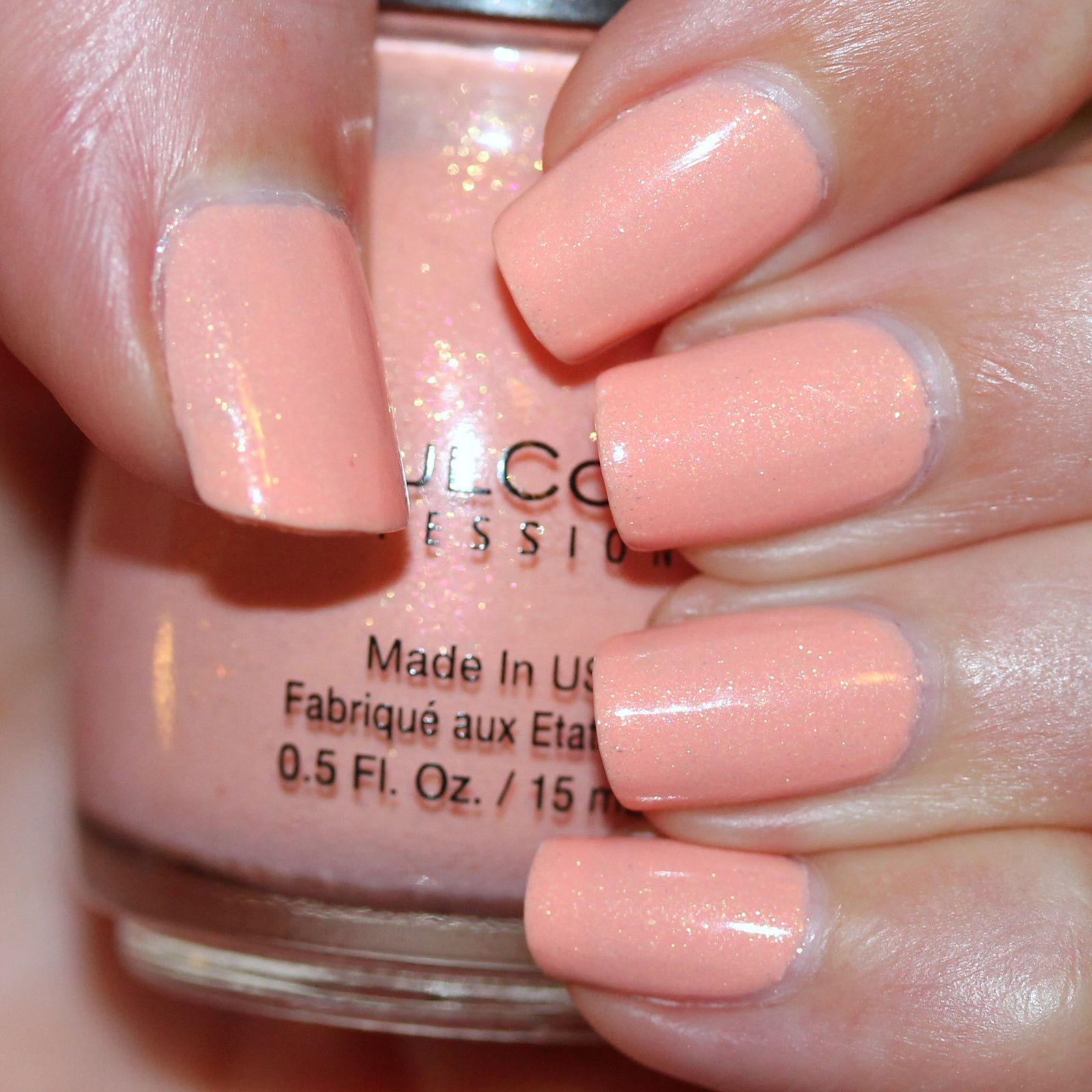 Duri Rejuvacote / Sinful Colors V.I.Peach / Sally Hansen Miracle Gel Top Coat