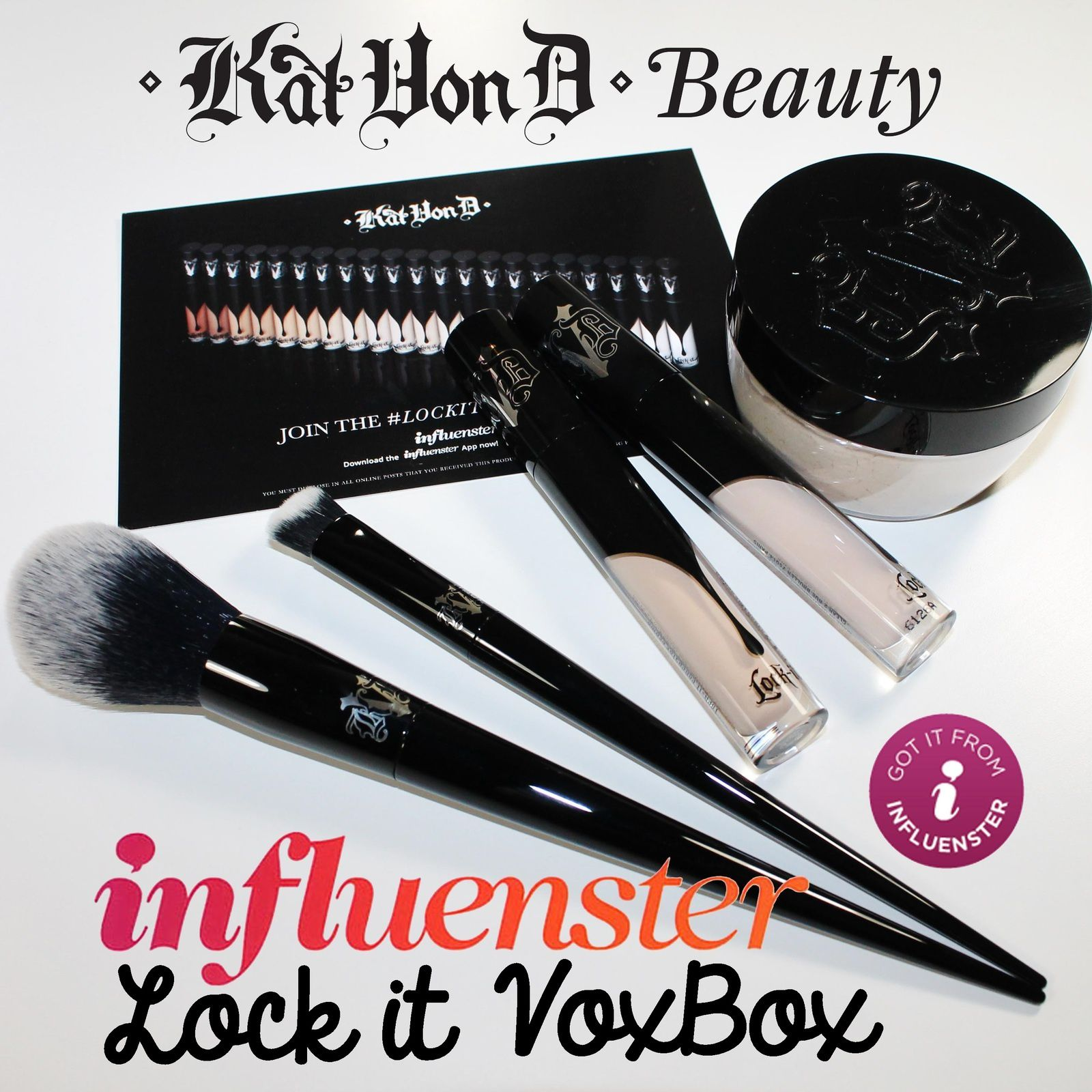I received this product complimentary from Influenster & Kat Von D Beauty for testing purposes.