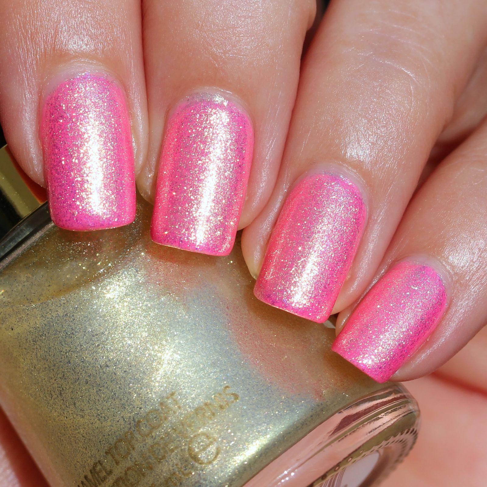 Duri Rejuvacote / Glam Polish Berry Parfait / Revlon Gold Glaze / Sally Hansen Miracle Gel Top Coat