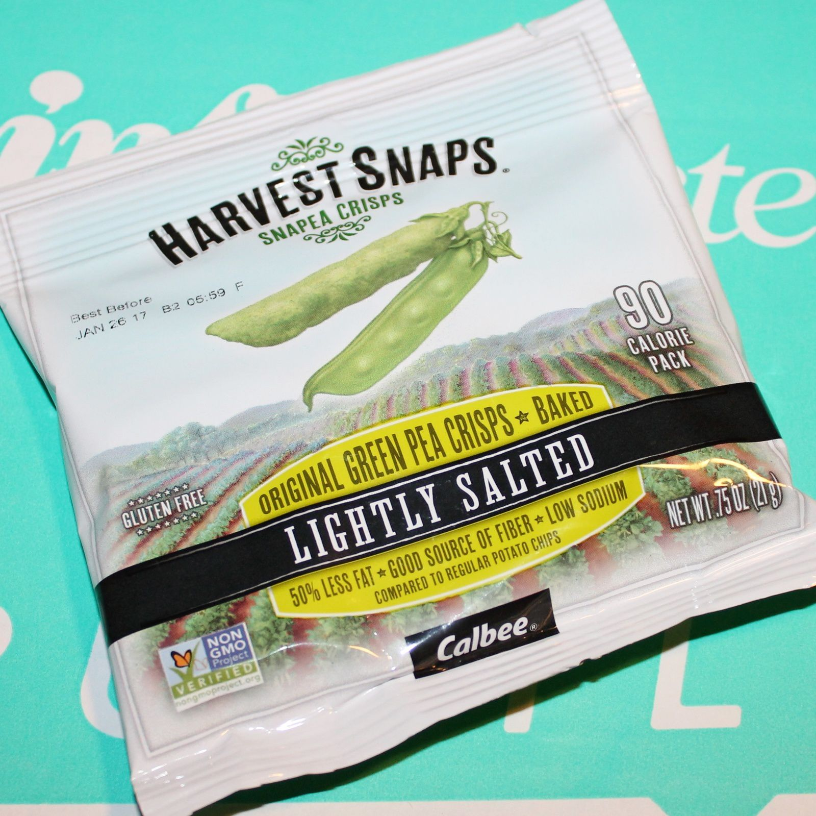 Harvest Snaps Snapea Crisps Lightly Salted