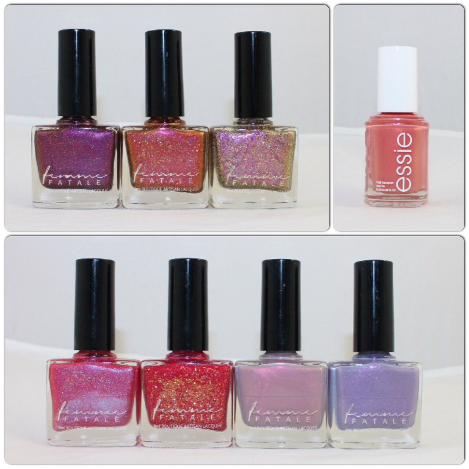 Femme Fatale The Last Resort, Welcome to Mars, The Egotrip, Venusville, Clever Girl, 2084, Ready for Dreamland? Essie Oh Behave!