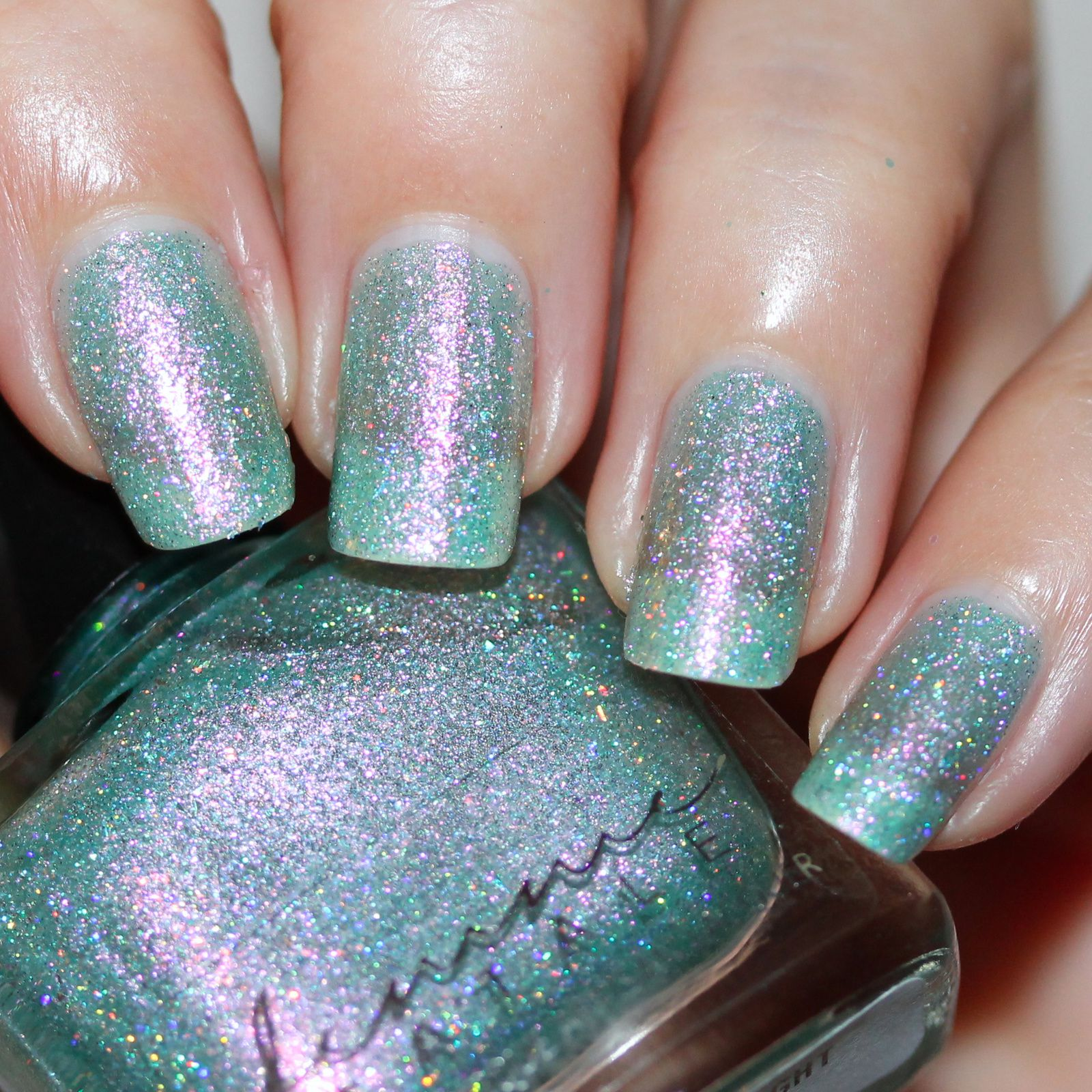 Femme Fatale Glittering Draught (2 coats, no top coat)