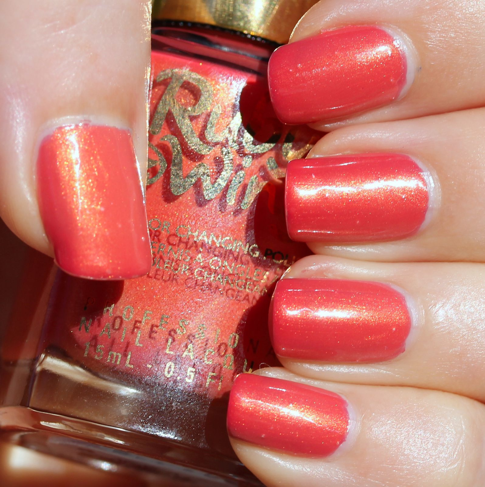 Sally Hansen Complete Care 4-in-1 Extra Moisturizing Nail Treatment / Ruby Wing Silk Sheets / HK Girl Top Coat