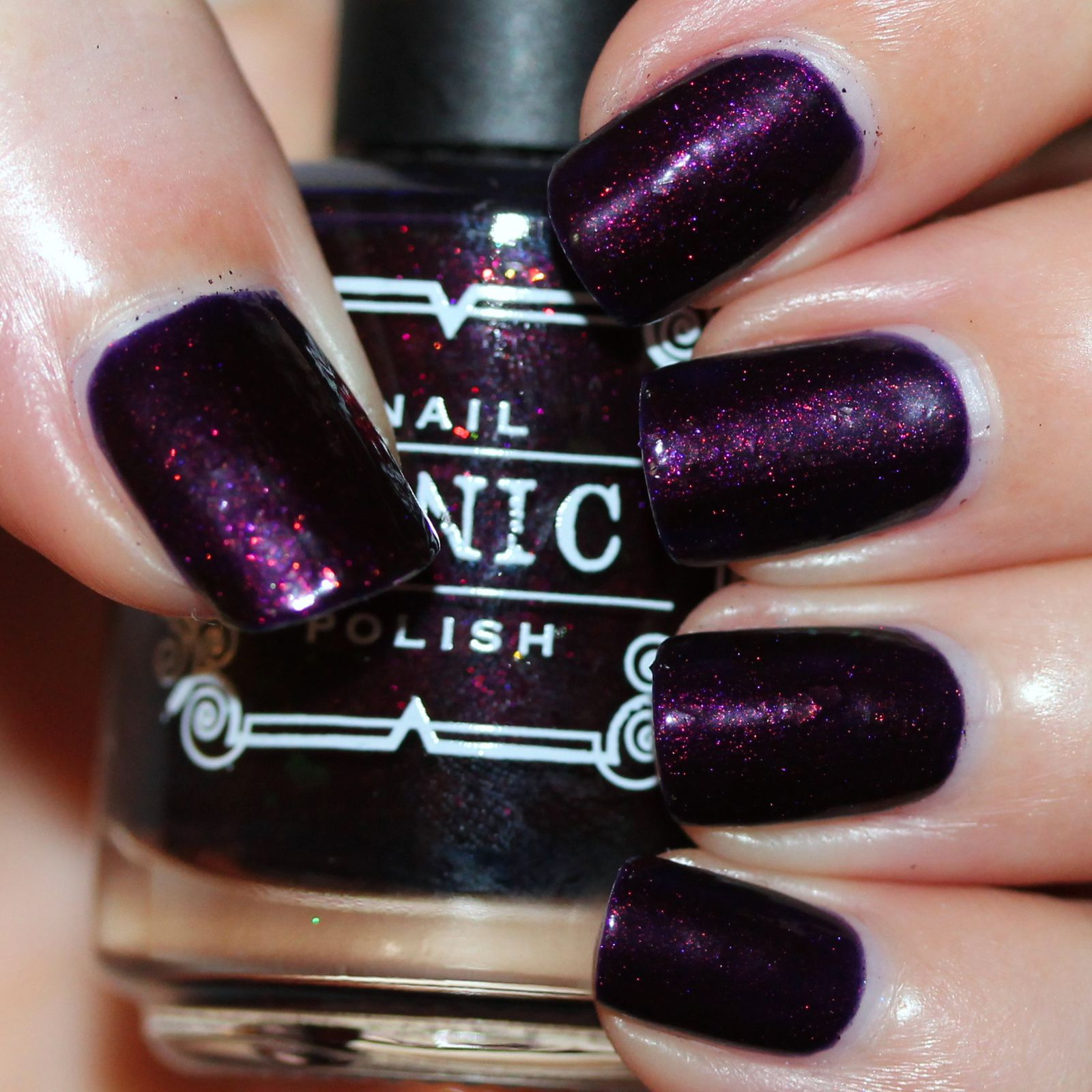 Tonic Polish Be My Violet-tine (2 coats, no top coat)