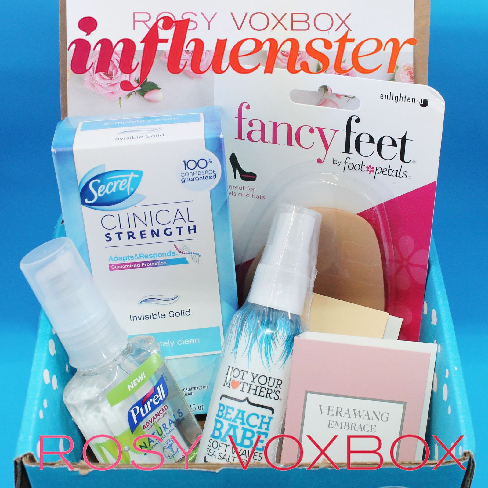 I received these products complimentary from Influenster for testing purposes.