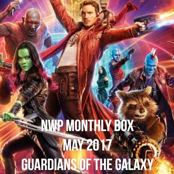 Native War Paints Monthly Box - May 2017 - Guardians of the Galaxy