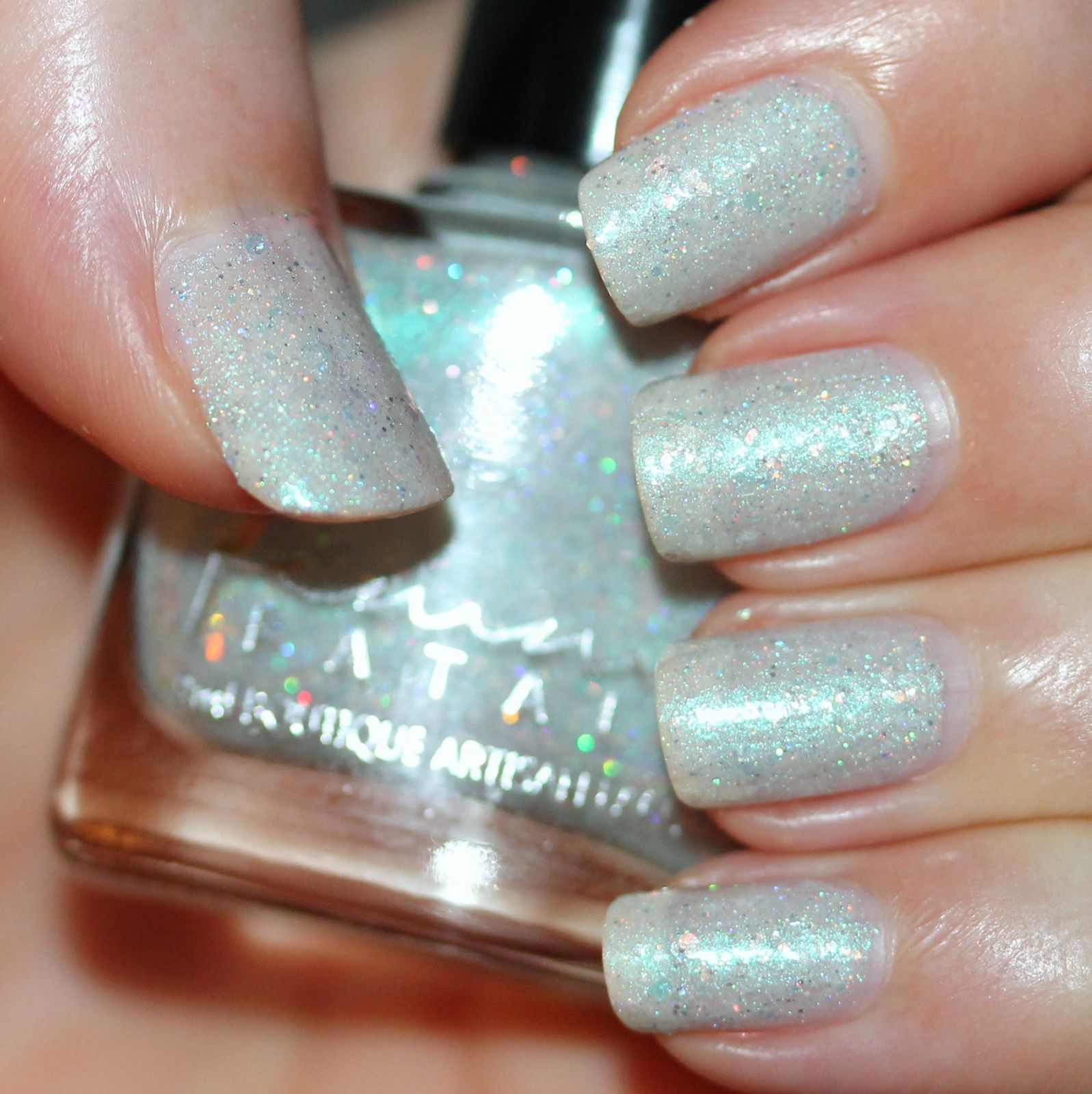 Femme Fatale Cosmetics Glimmerbreath (3 coats, no top coat)