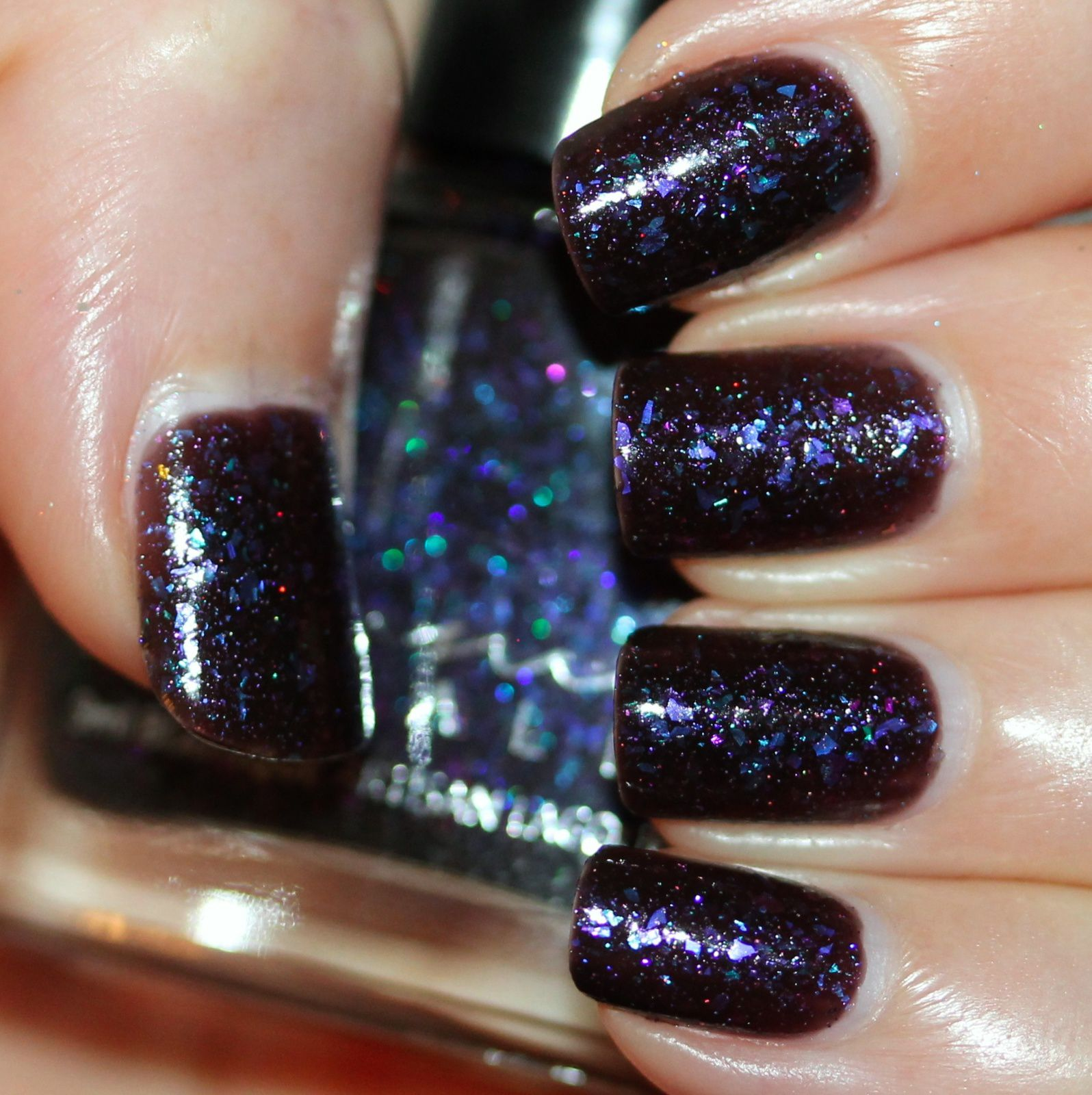 Femme Fatale Cosmetics Celestial Sea (3 coats, no top coat)