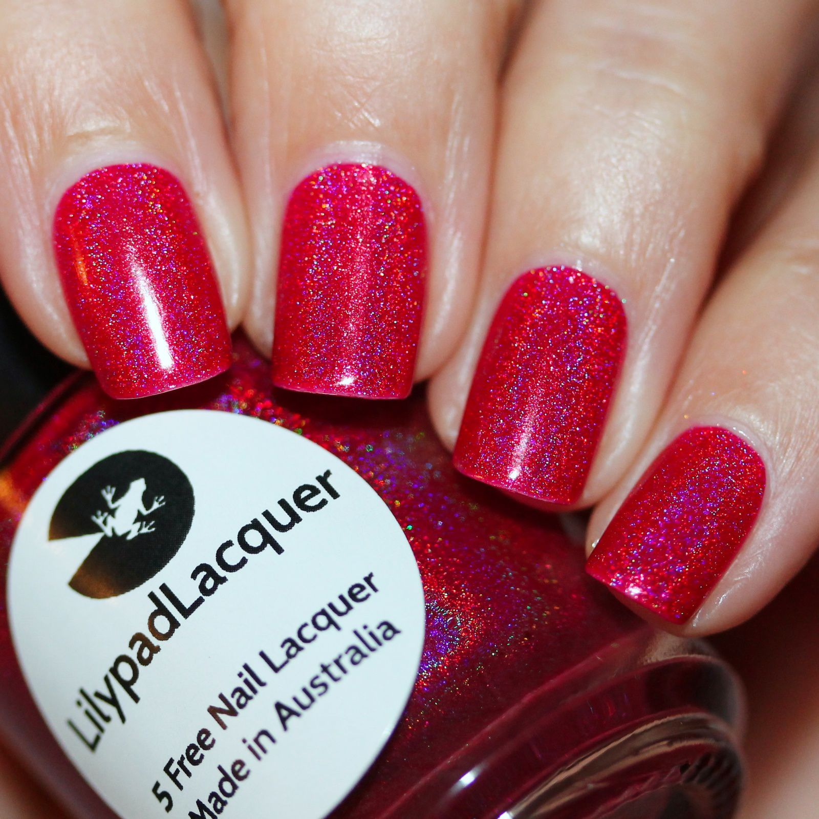 Essie Protein Base Coat / Lilypad Lacquer Ruby Slippers ...