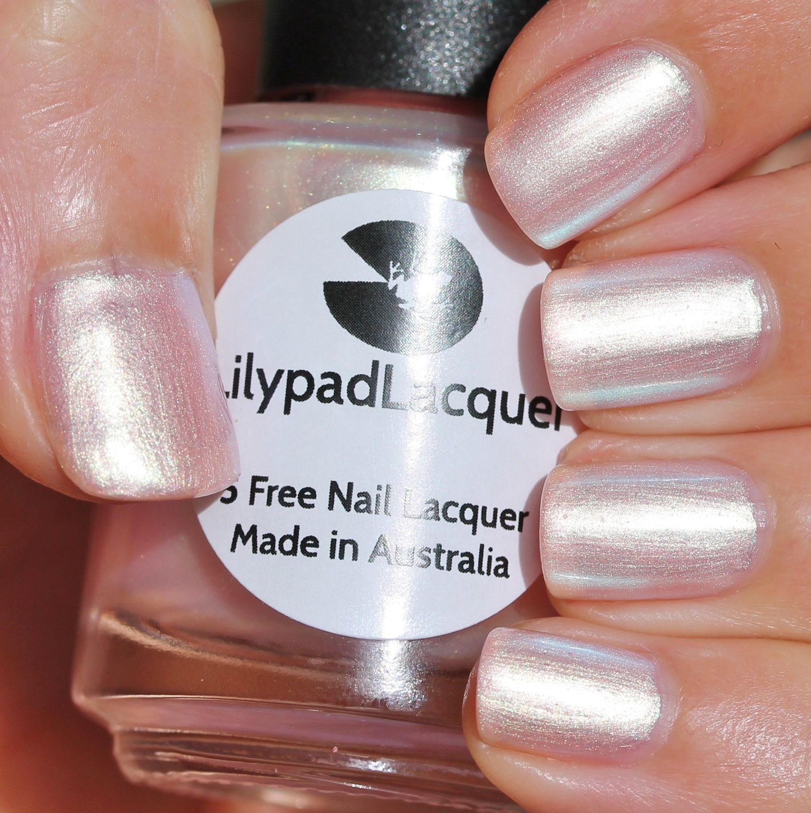 Sally Hansen Complete Care 4-in-1 Extra Moisturizing Nail Treatment / Lilypad Lacquer Satin Sheets / Poshe Top Coat