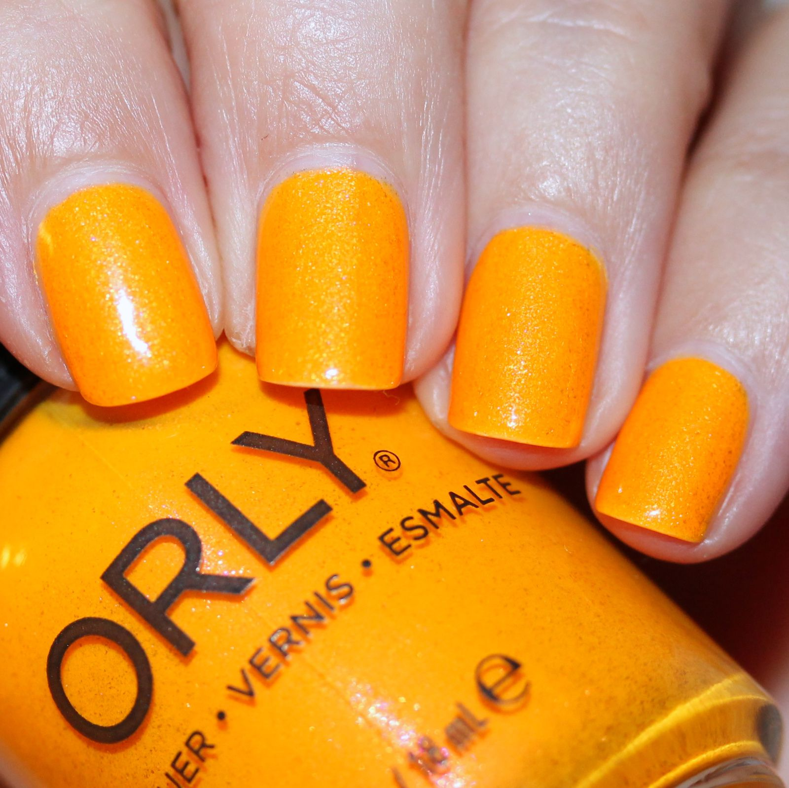 Sally Hansen Complete Care 4-in-1 Extra Moisturizing Nail Treatment / Orly Summer Sunset / HK Girl Top Coat