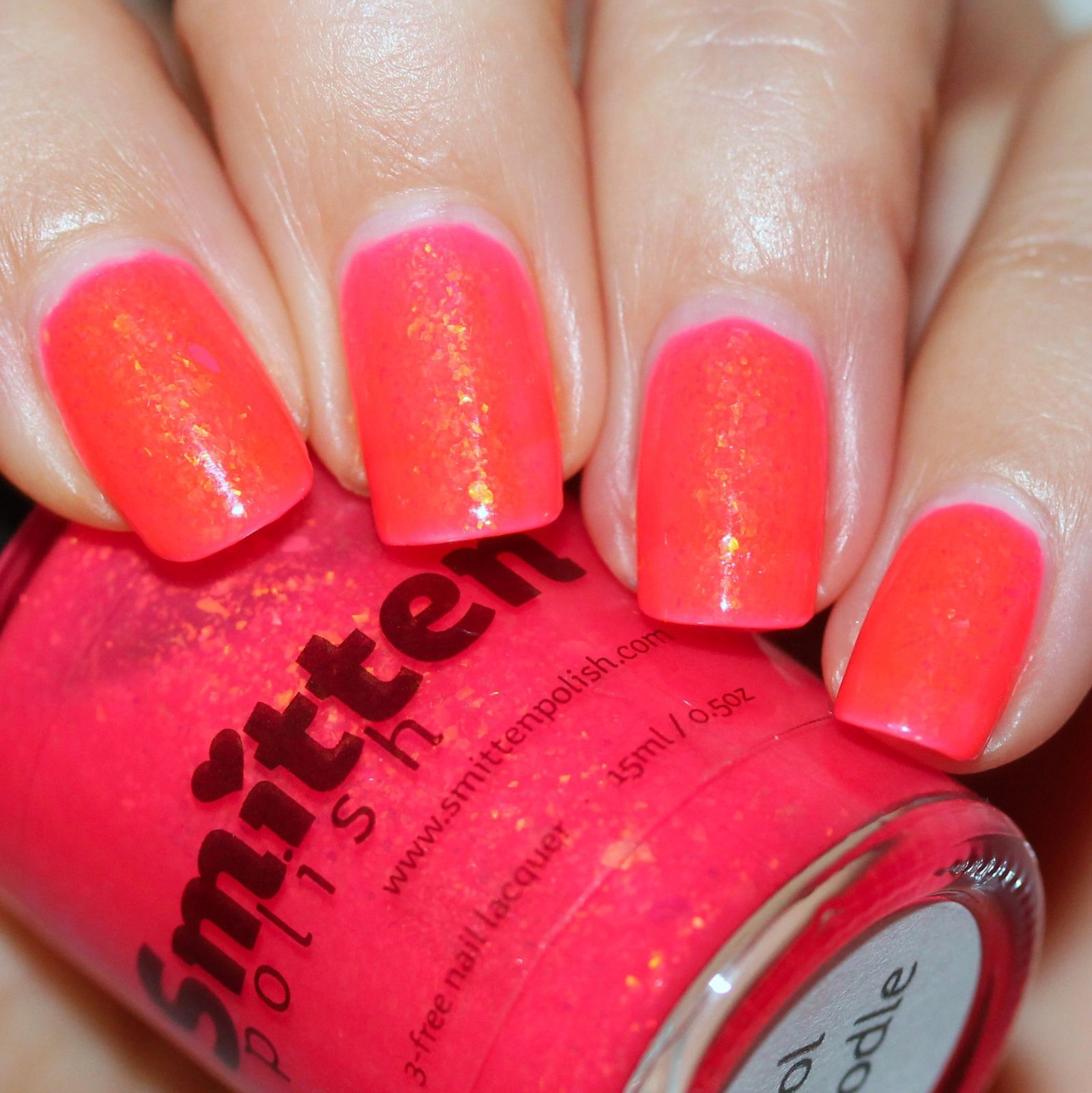 Sally Hansen Complete Care 4-in-1 Extra Moisturizing Nail Treatment / Smitten Polish (Dreamland Lacquer) Pool Noodle / HK Girl Top Coat