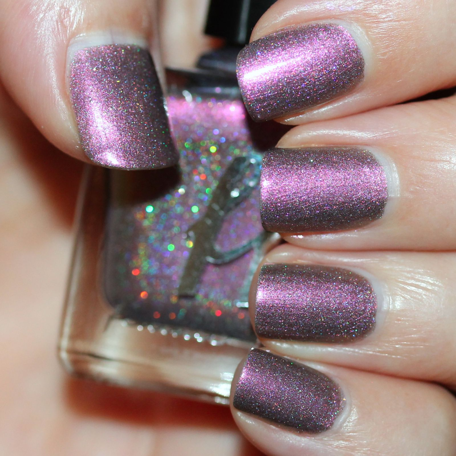 Femme Fatale Cosmetics Fractured Horizon (2 coats, not top coat)
