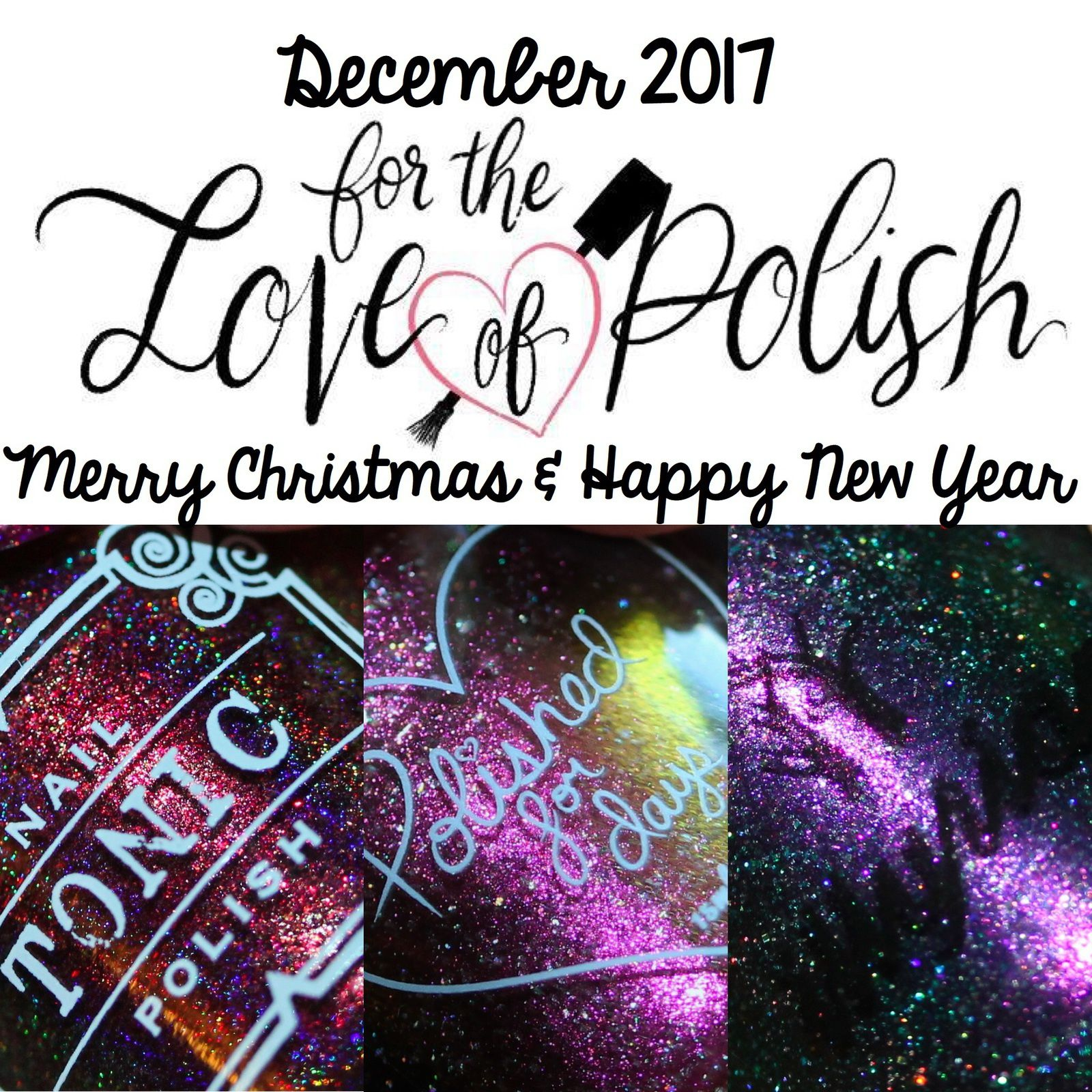 for the love of polish december 2017 merry christmas happy new year