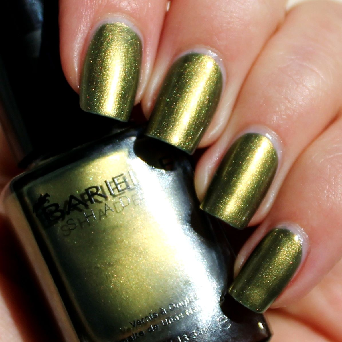 Essie Protein Base Coat / Barielle Holiday Madness / Poshe Top Coat
