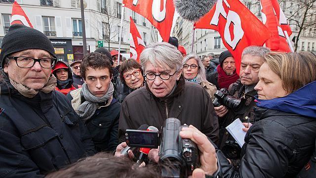 Soutien aux actions du 17 mars pour obtenir le retrait du projet de Loi Travail