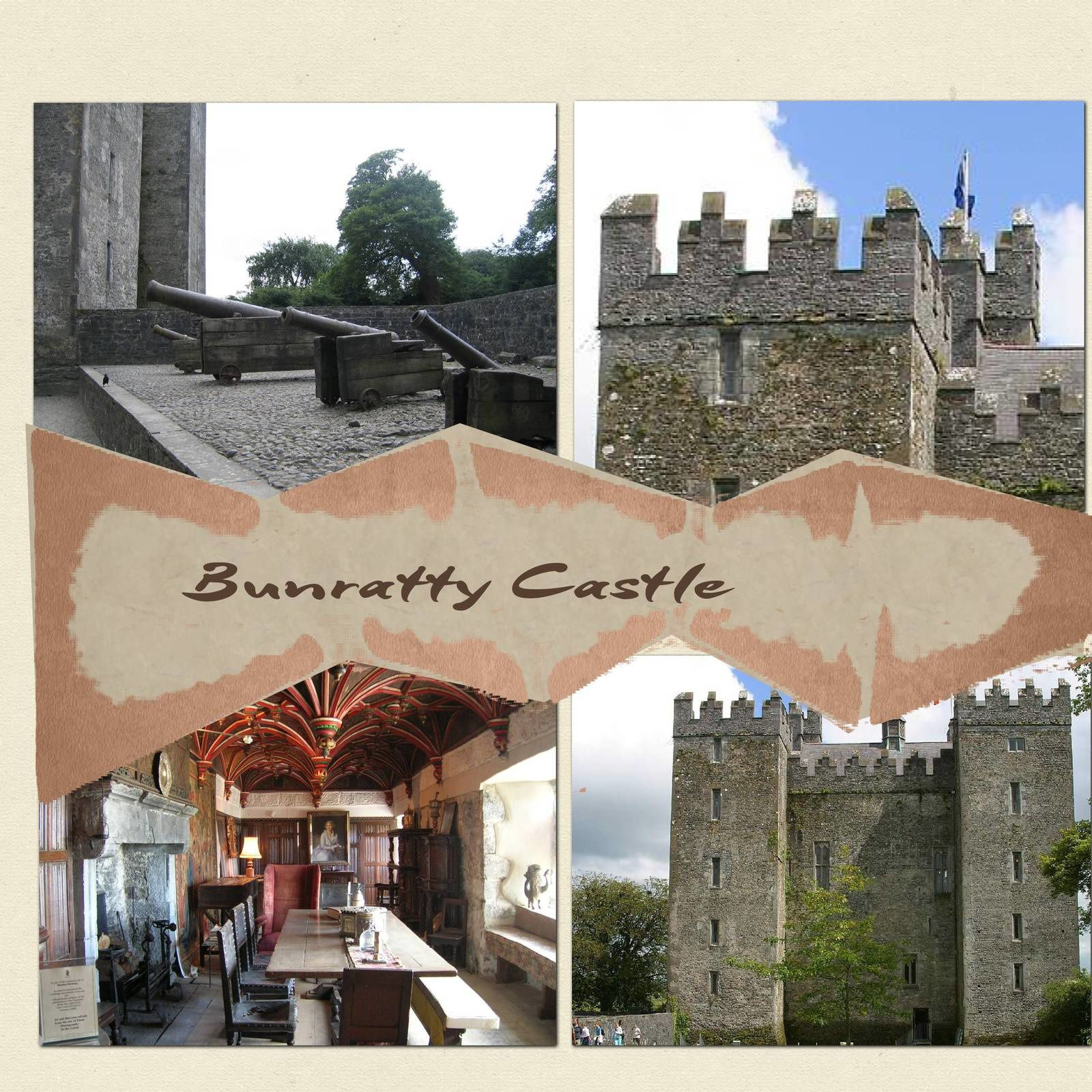 Bunratty Castle et Muckross House