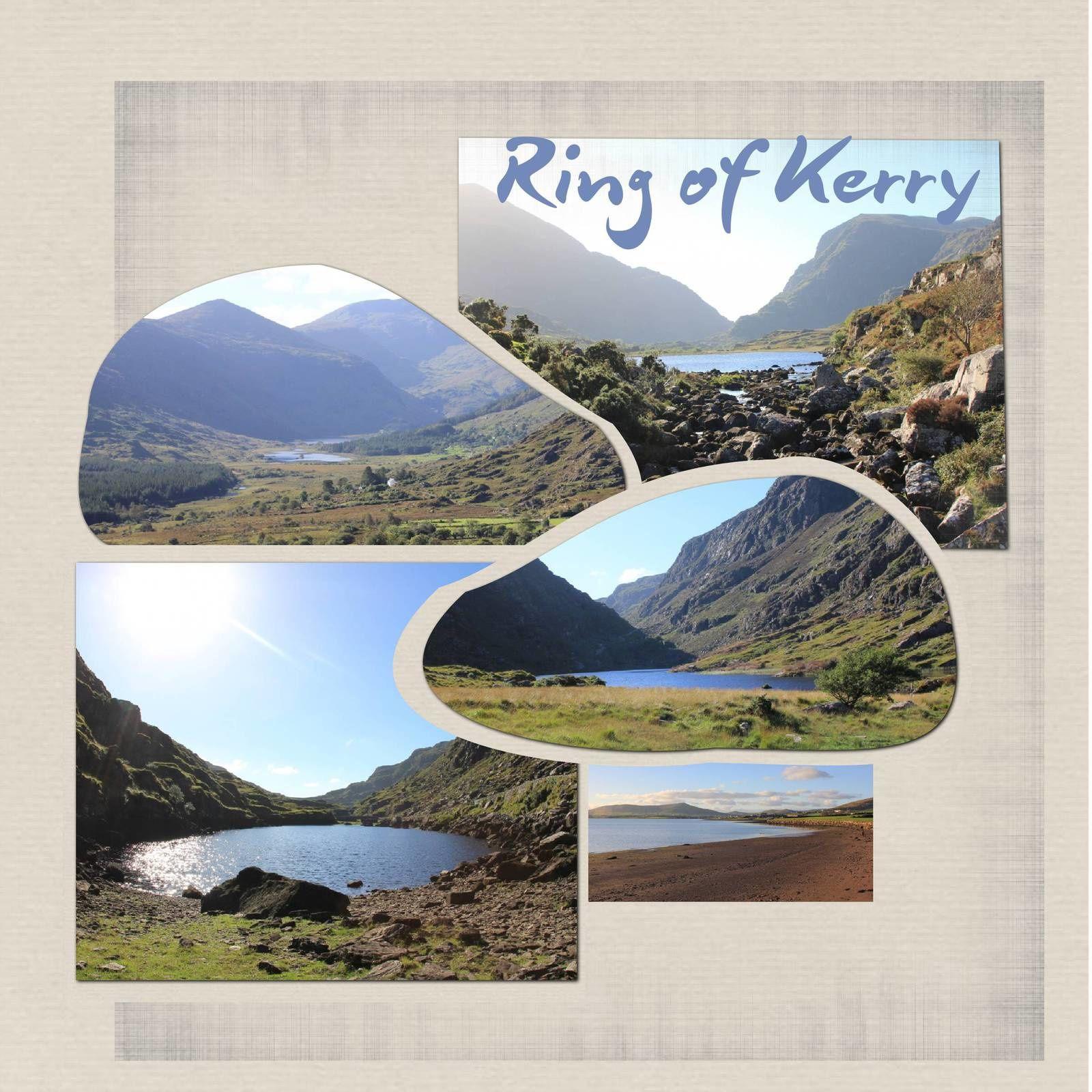 l'anneau de Kerry et Killarney