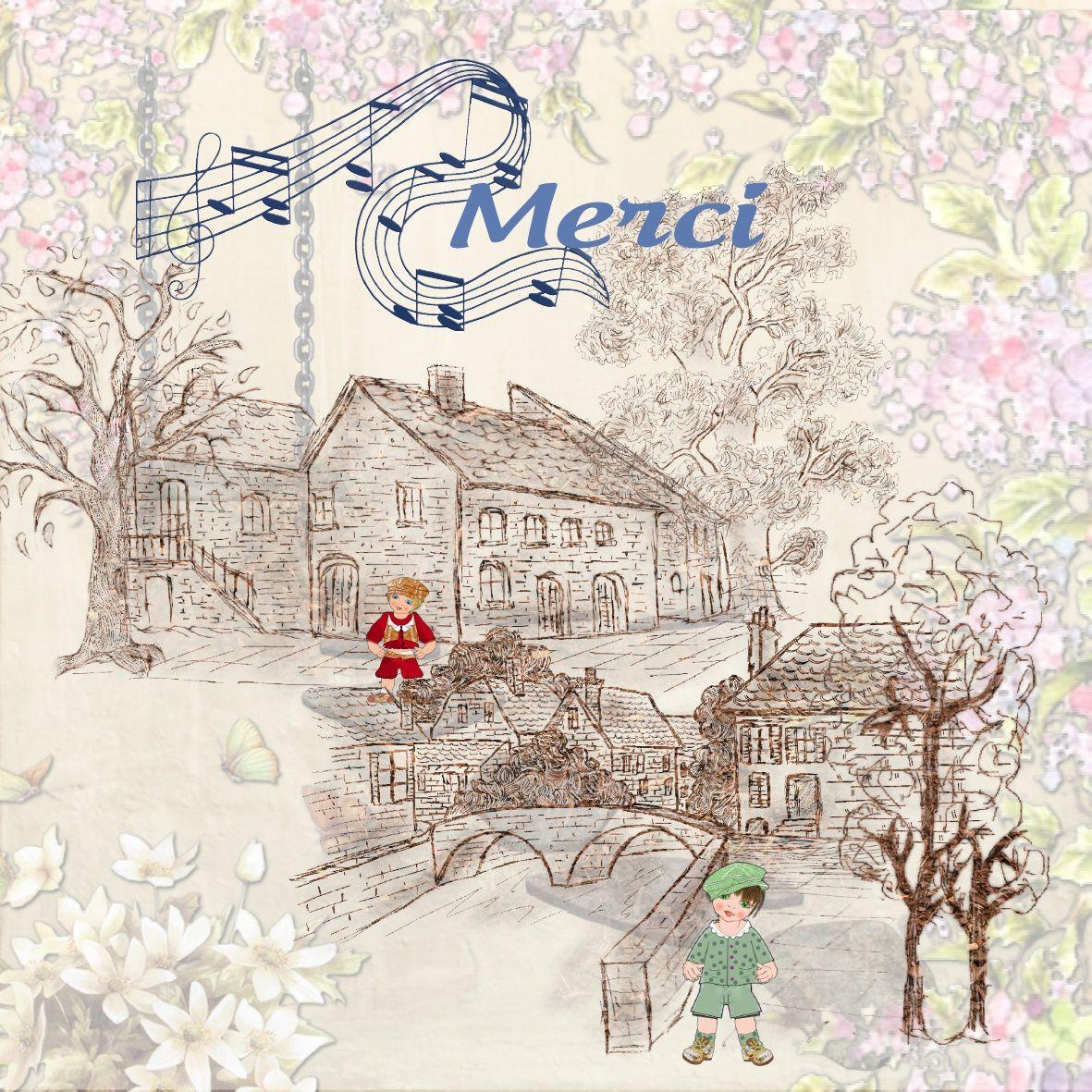 Les cadeaux de Mélodie - maisons