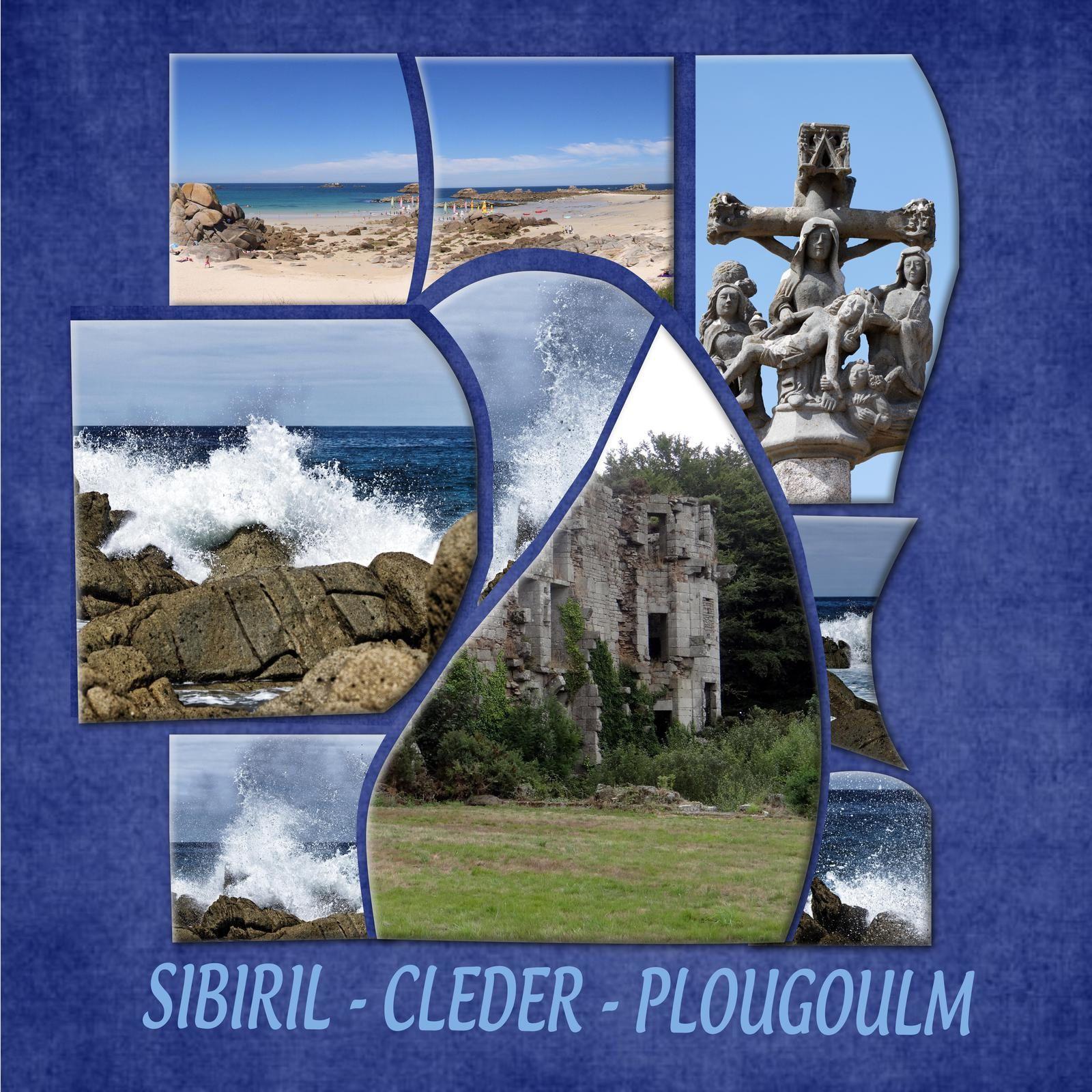 PLOUGOULM - SIBIRIL - CLEDER