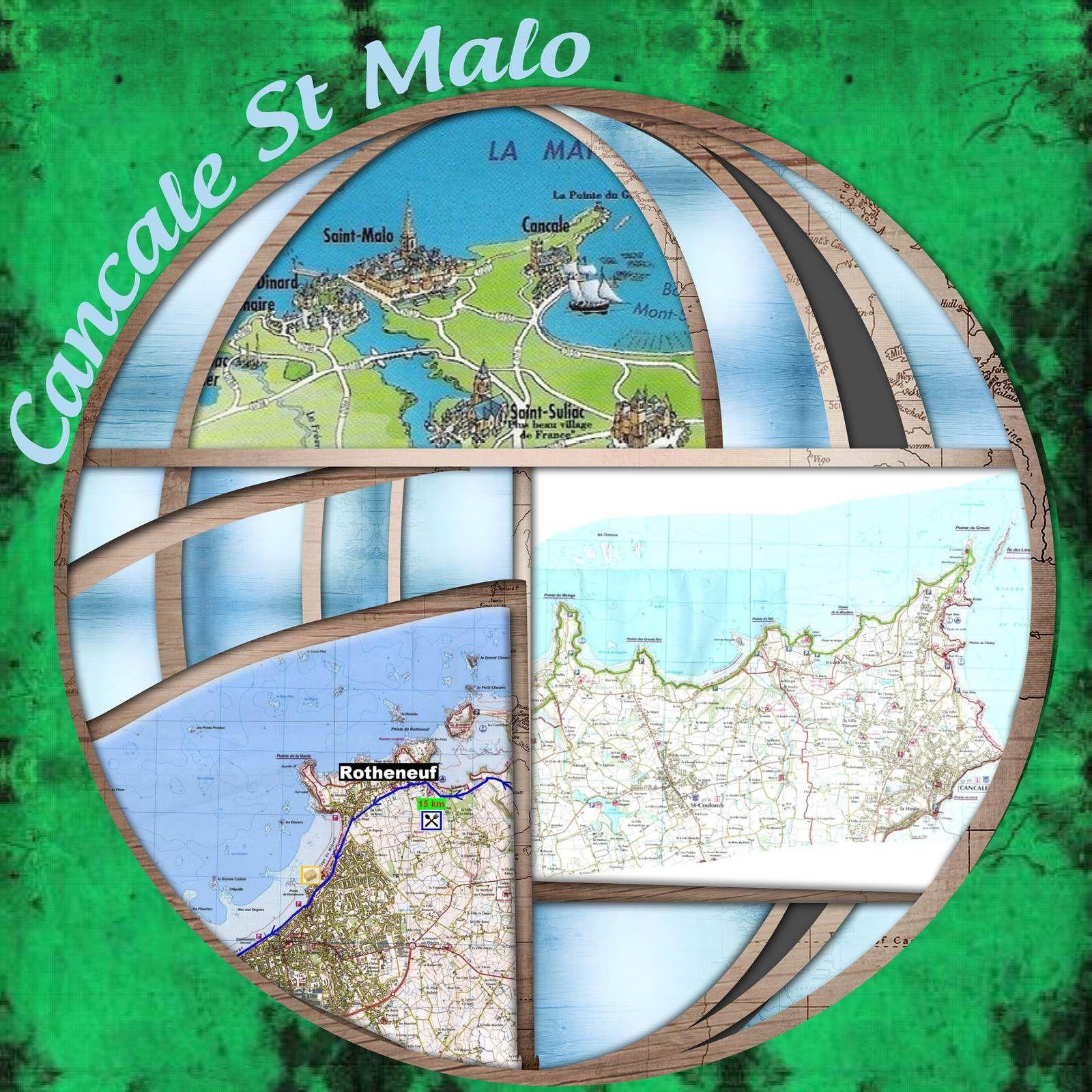 DE CANCALE A ST MALO